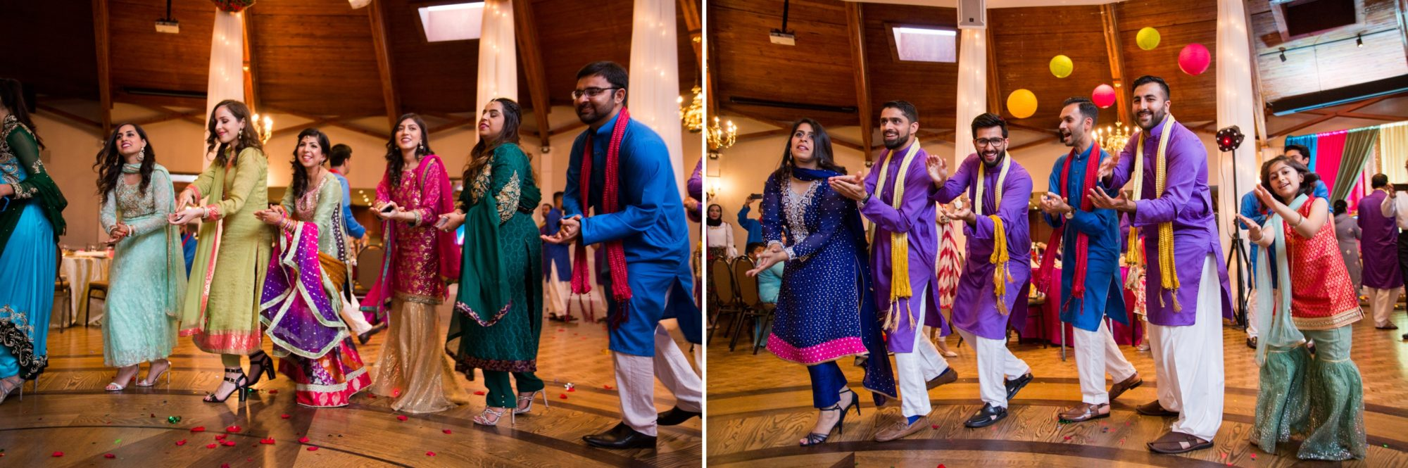 Indian Dance Wedding Mehndi Ceremony Zsuzsi Pal Photography Saba and Jawad