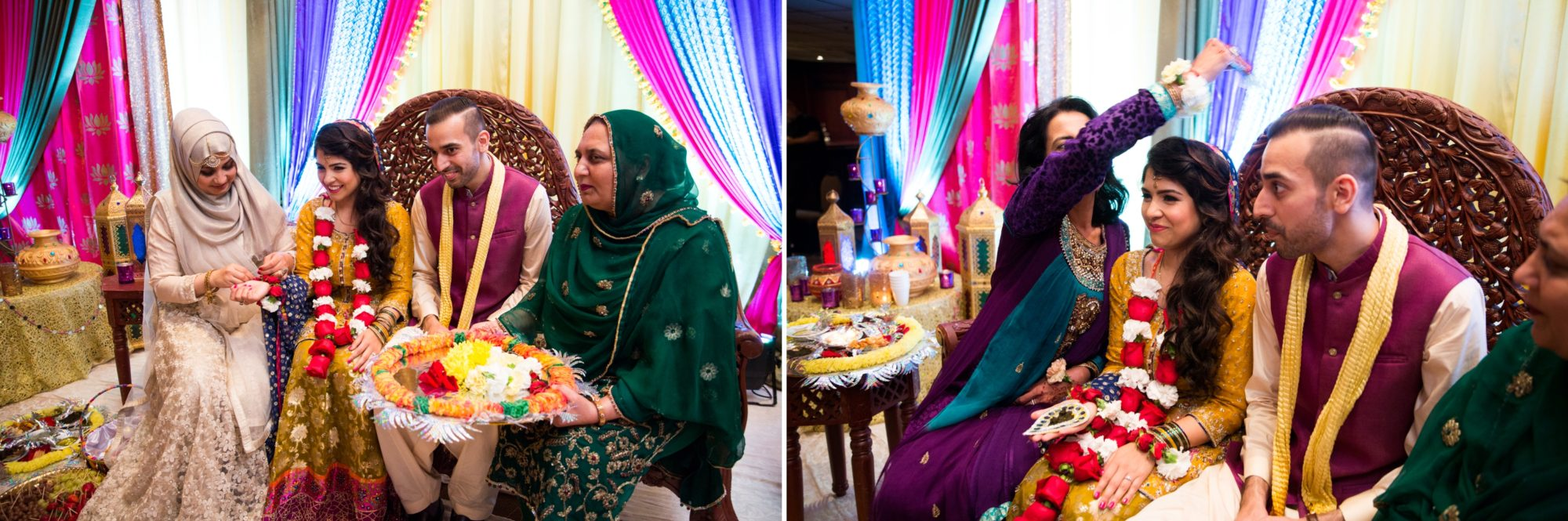 Wedding Mehndi Ceremony Zsuzsi Pal Photography Saba and Jawad