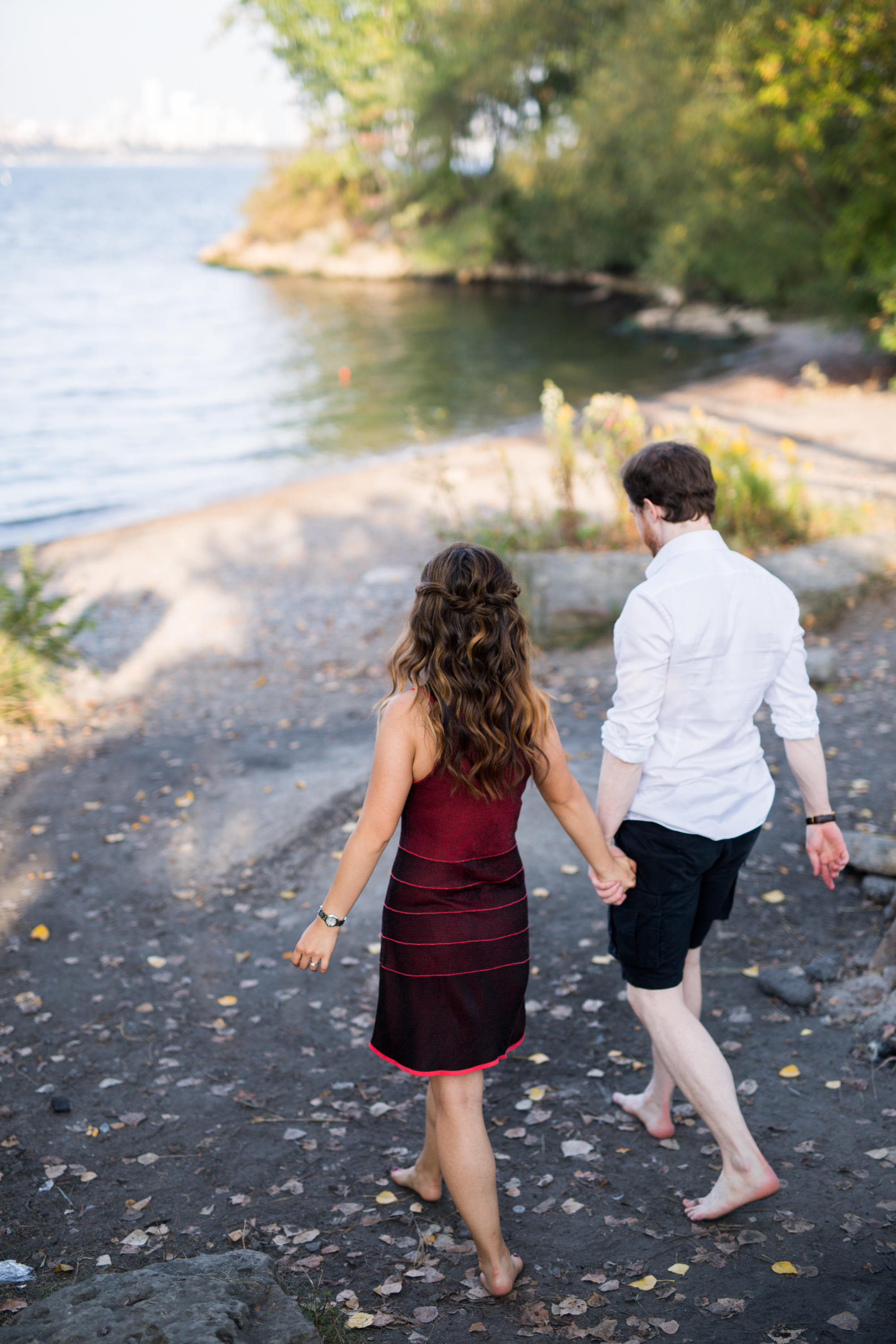 Walk Couple Toronto Engagement Zsuzsi Pal Photography