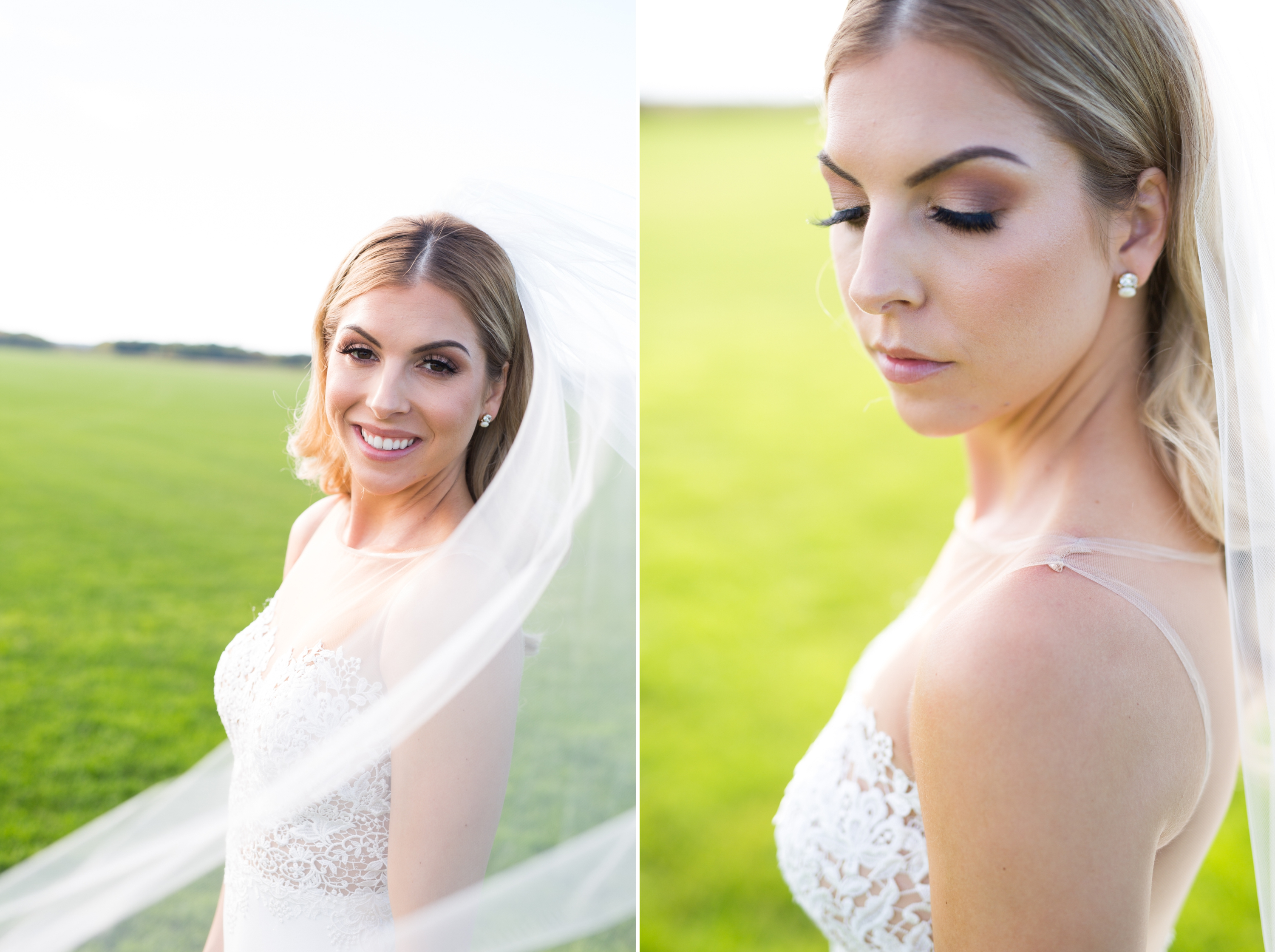 Bride Veil Rustic Wedding Zsuzsi Pal Photography