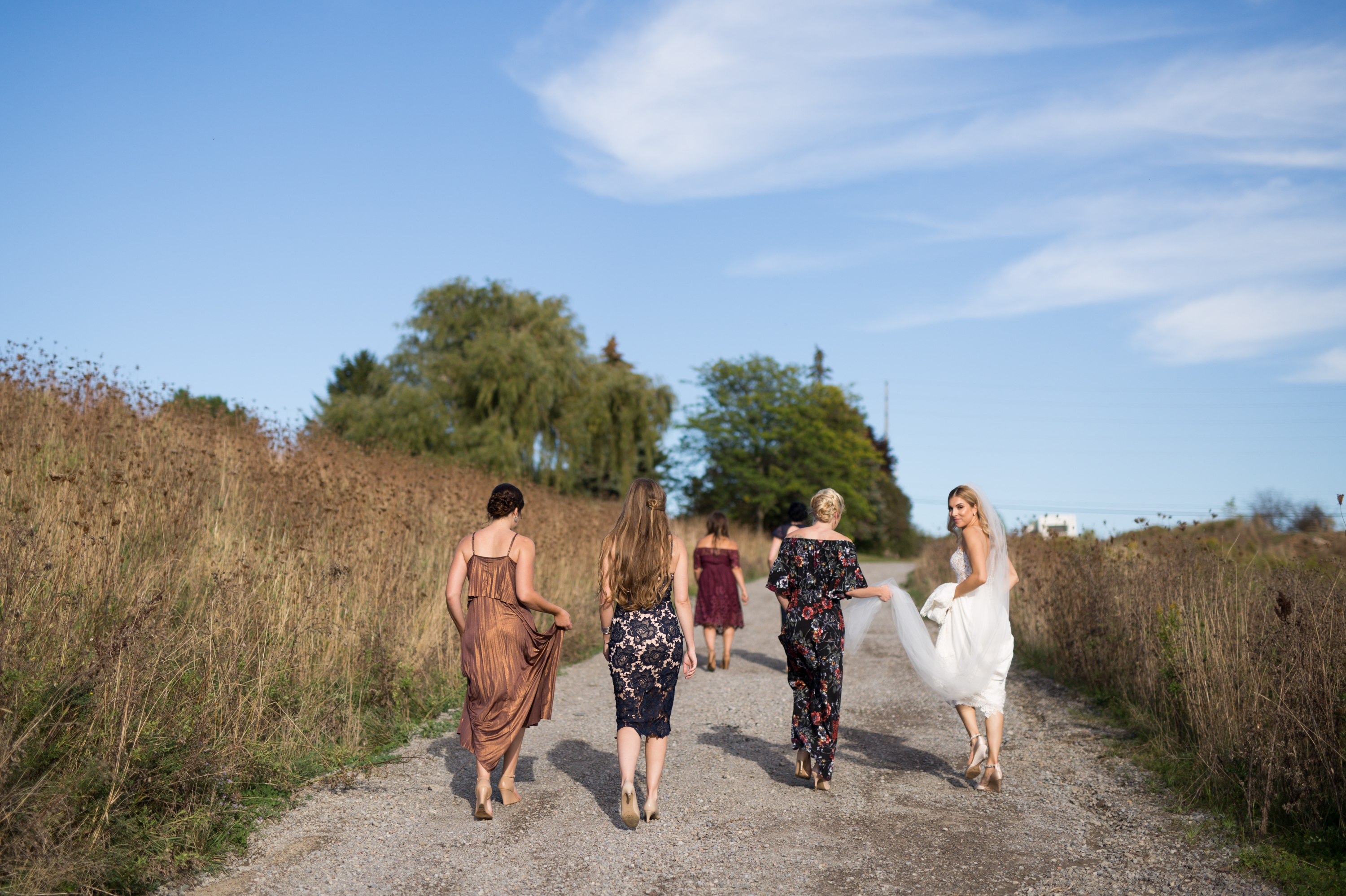 Bridesmaids Rustic Wedding Zsuzsi Pal Photography