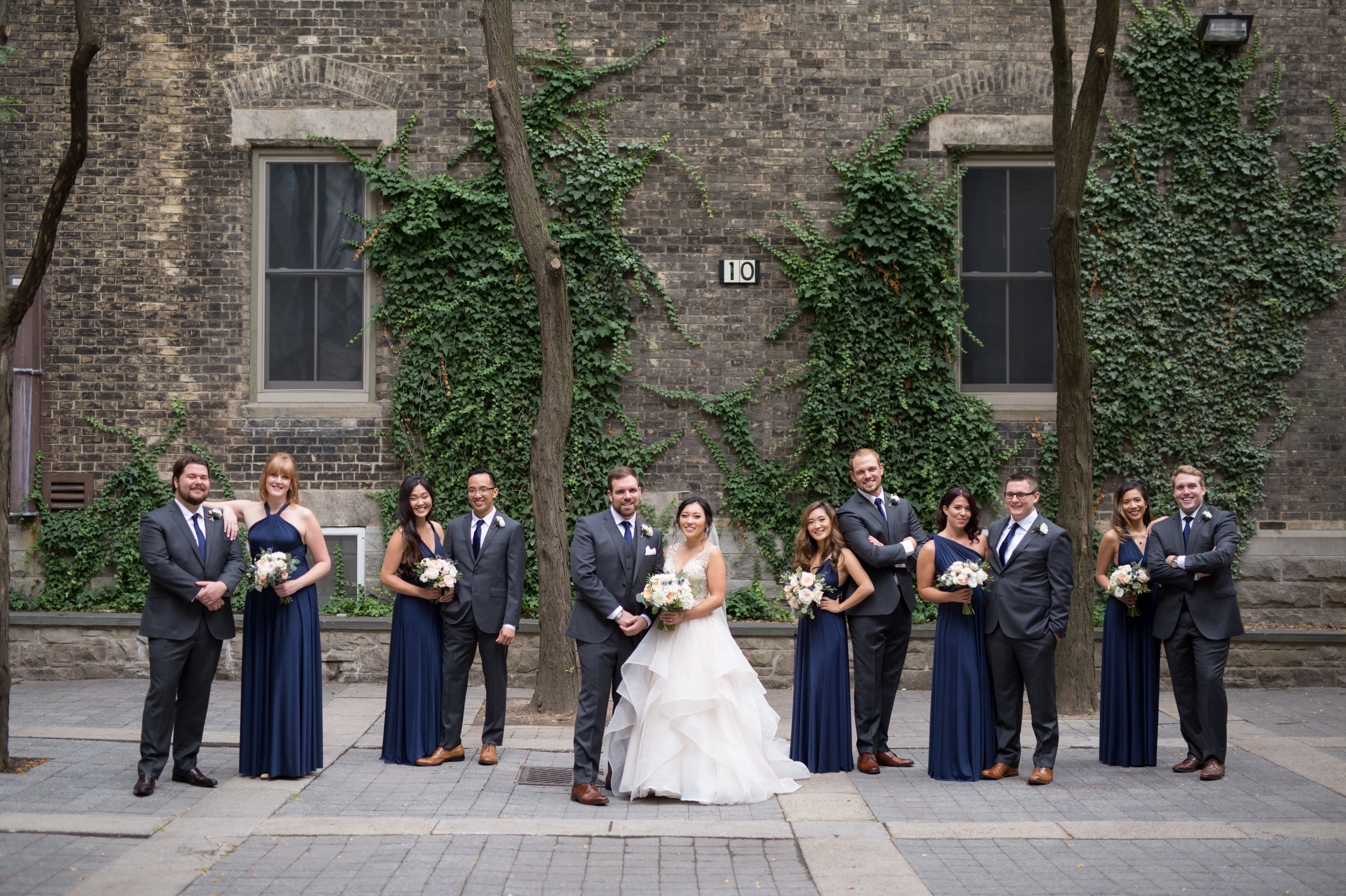 Wedding Party Toronto Berkeley Church Wedding Zsuzsi Pal Photography