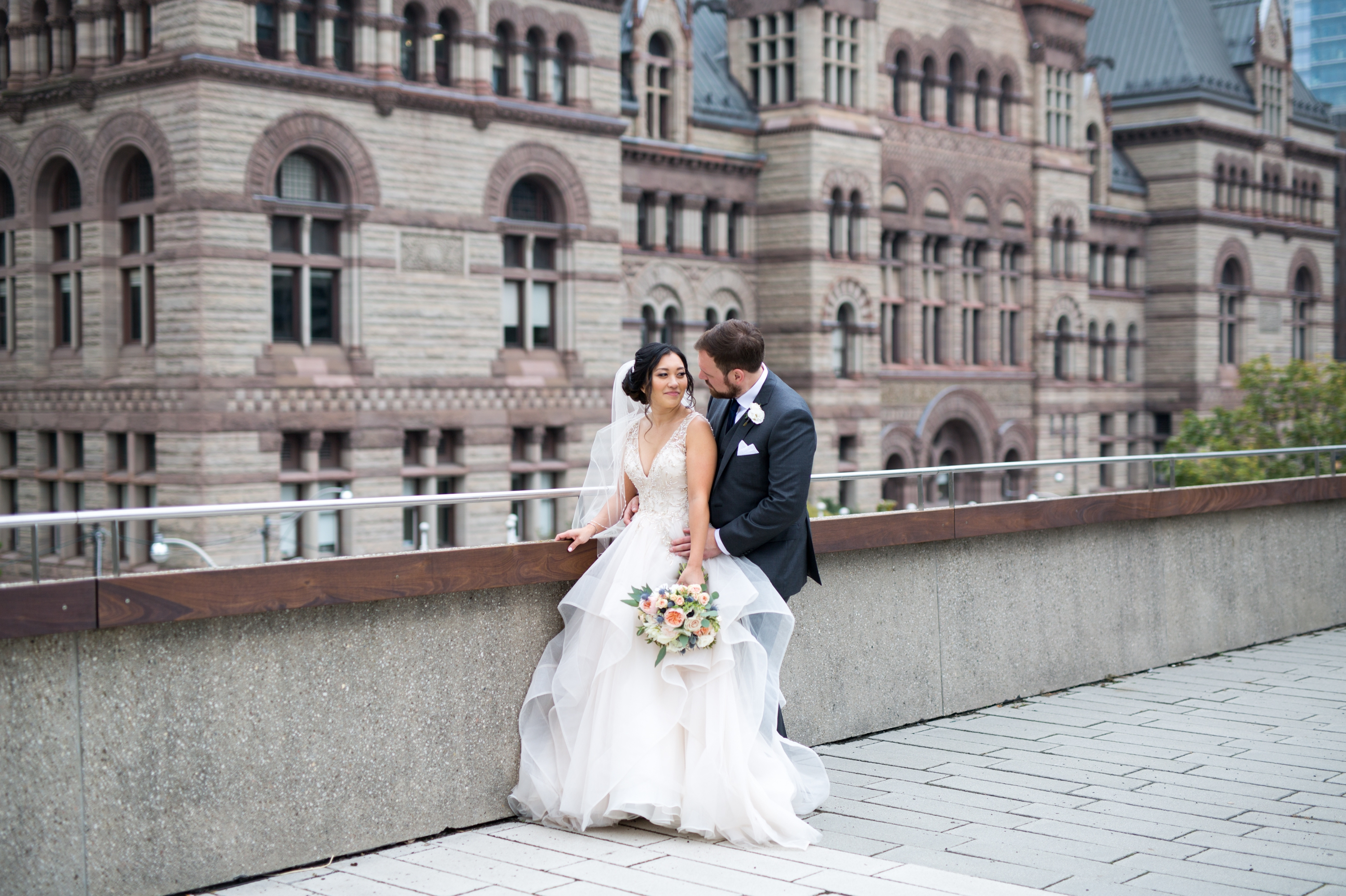 Cute Toronto Berkeley Church Wedding Zsuzsi Pal Photography