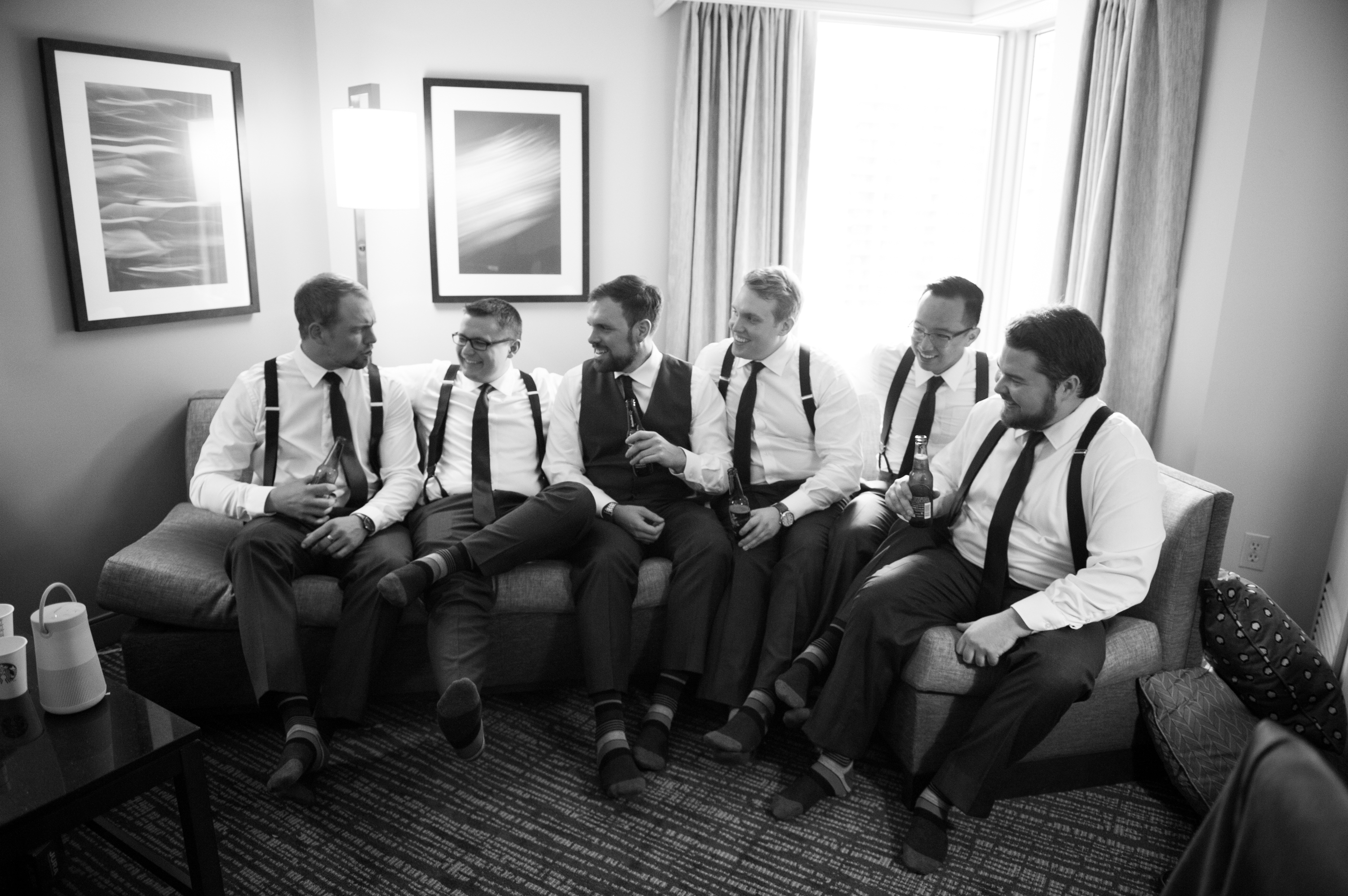 Groomsmen Toronto Berkeley Church Wedding Zsuzsi Pal Photography