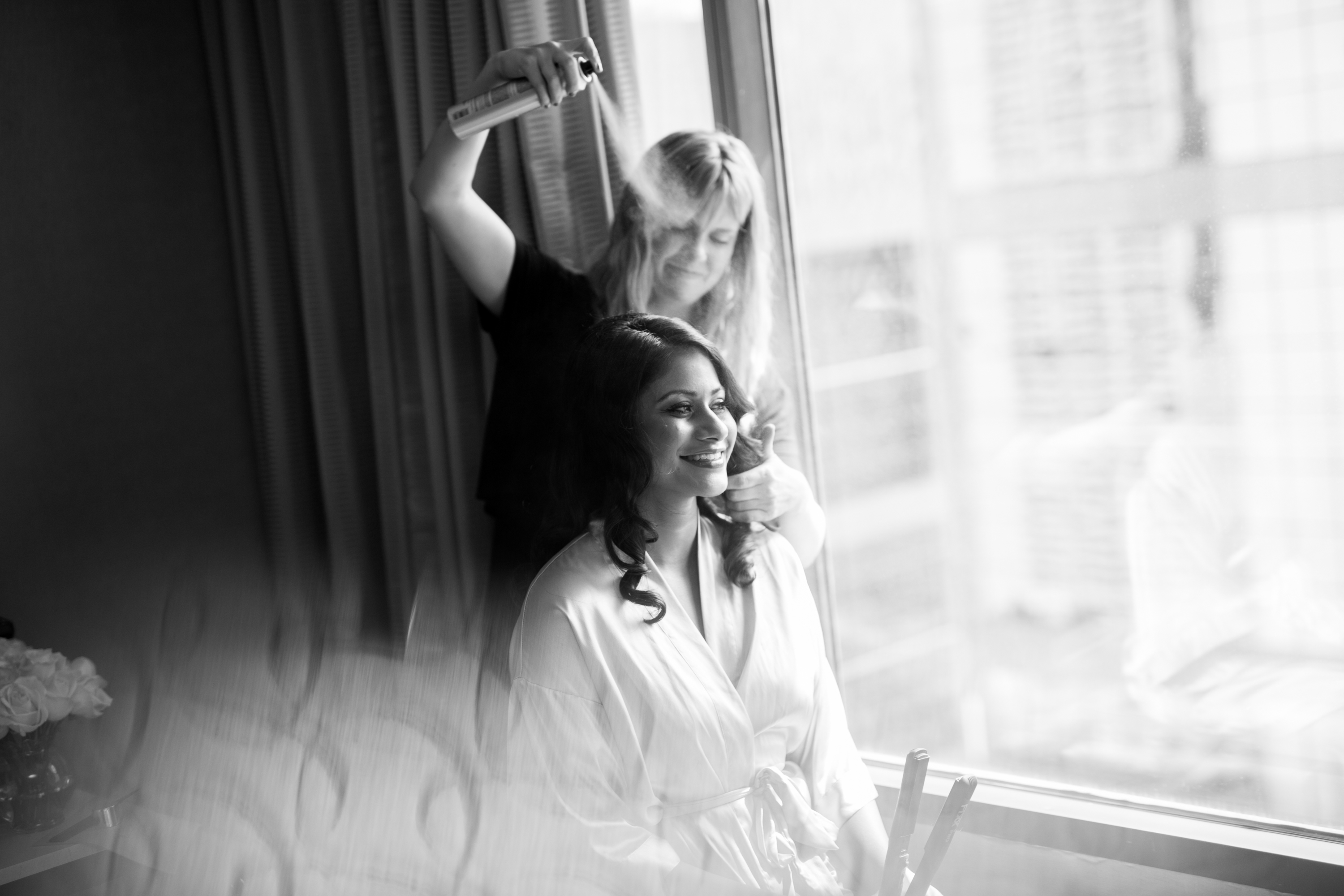 Black and White Toronto Wedding Drake One Fifty Zsuzsi Pal Photography