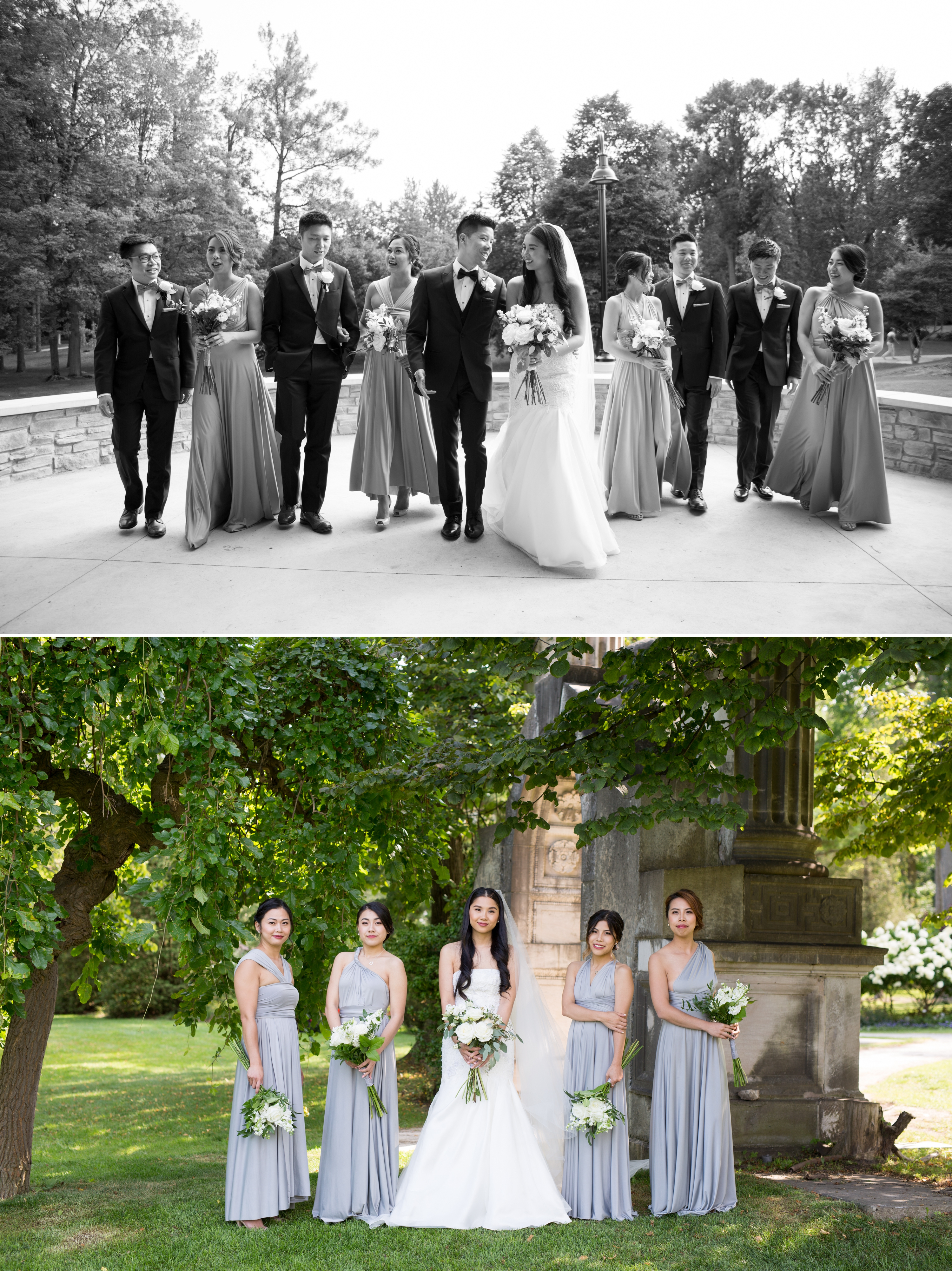 Bridal Party Zsuzsi Pal Photography Chinese Wedding Guild Inn Toronto