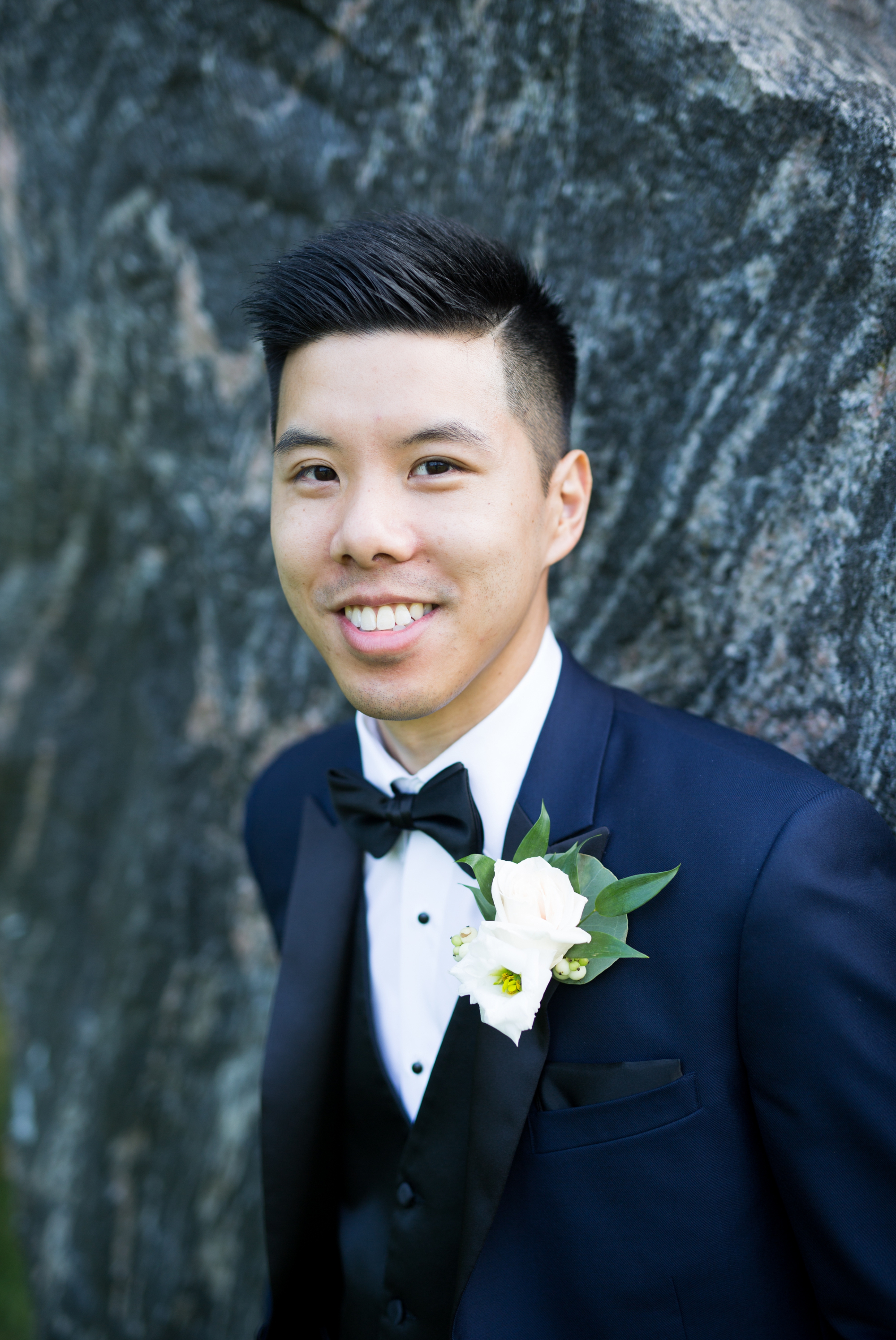 Groom Portrait Zsuzsi Pal Photography Chinese Wedding Guild Inn Toronto