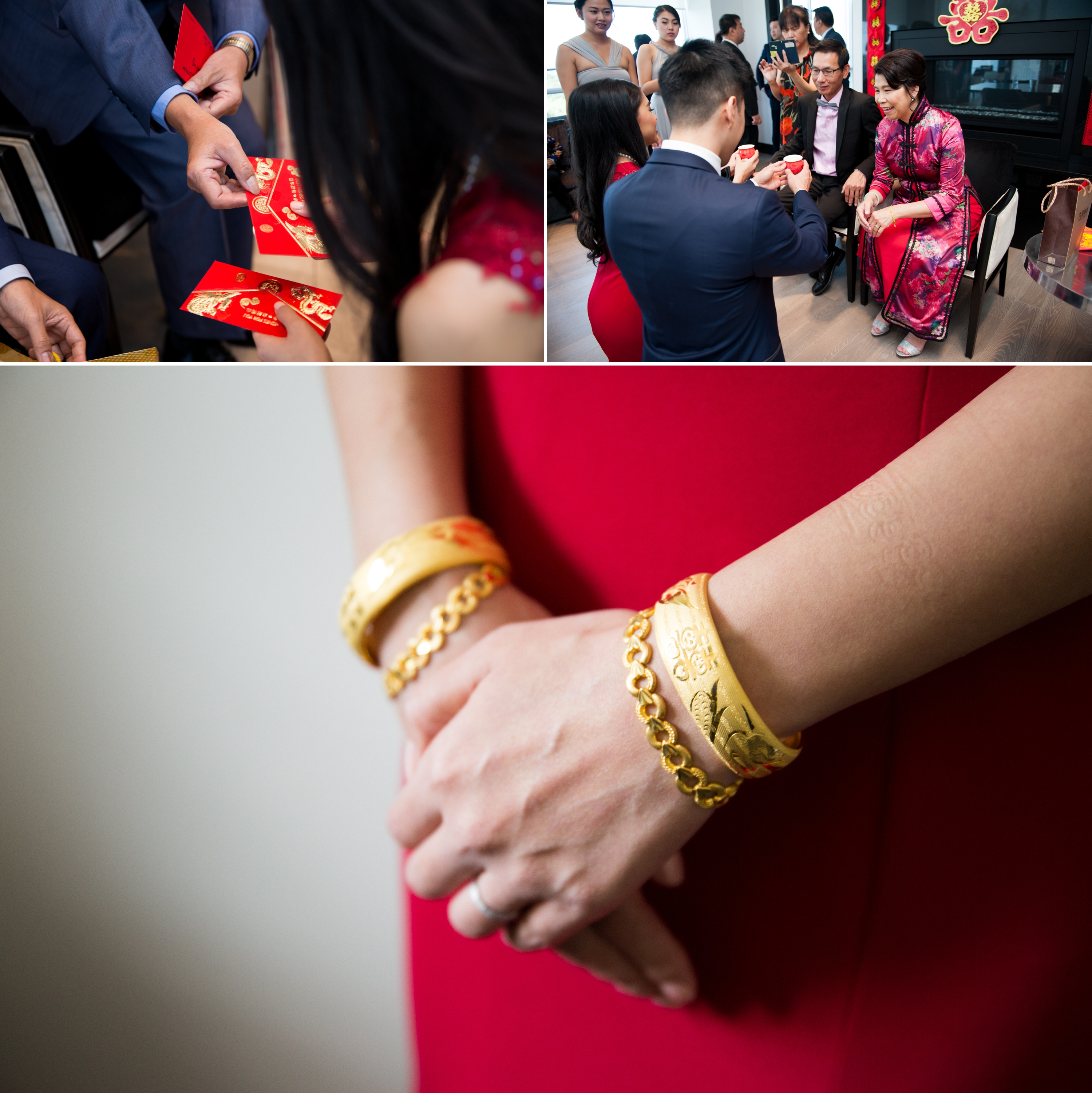 Red Dress Zsuzsi Pal Photography Chinese Wedding Guild Inn Toronto