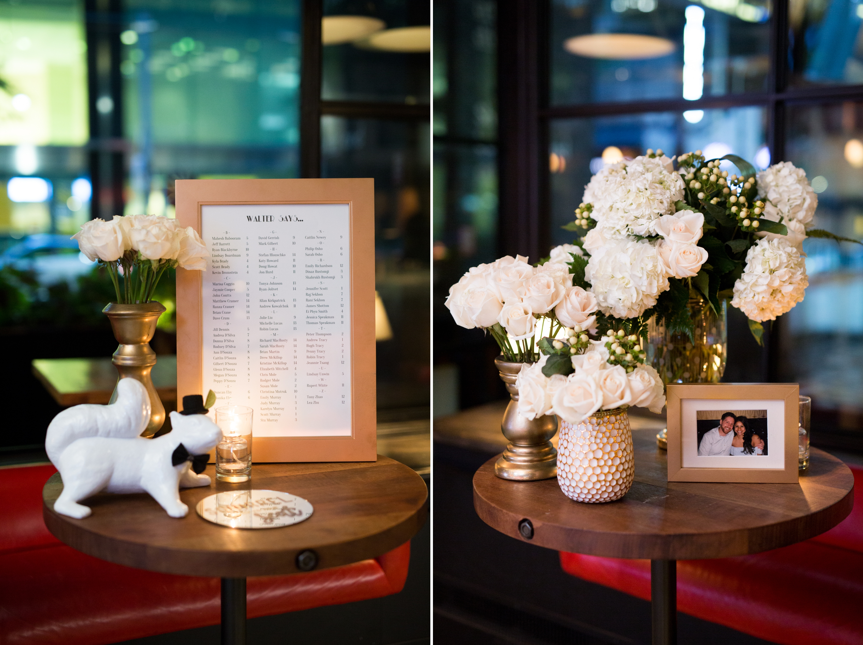 Flowers Toronto Wedding Drake One Fifty Zsuzsi Pal Photography