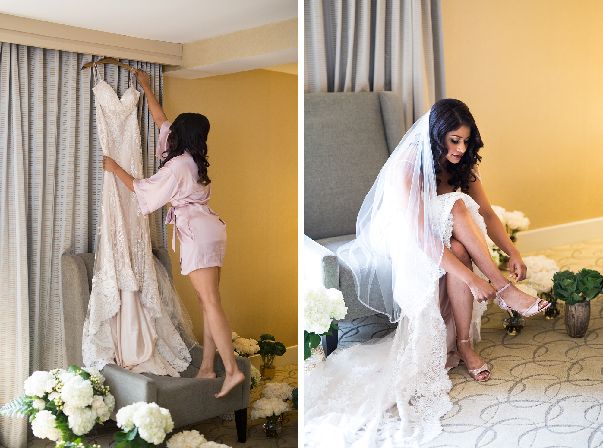 Prep Toronto Wedding Drake One Fifty Zsuzsi Pal Photography