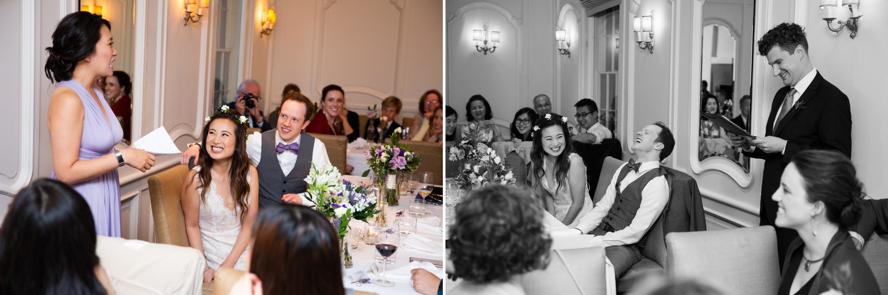 Speech Auberge Du Pommier Toronto Wedding Zsuzsi Pal Photography