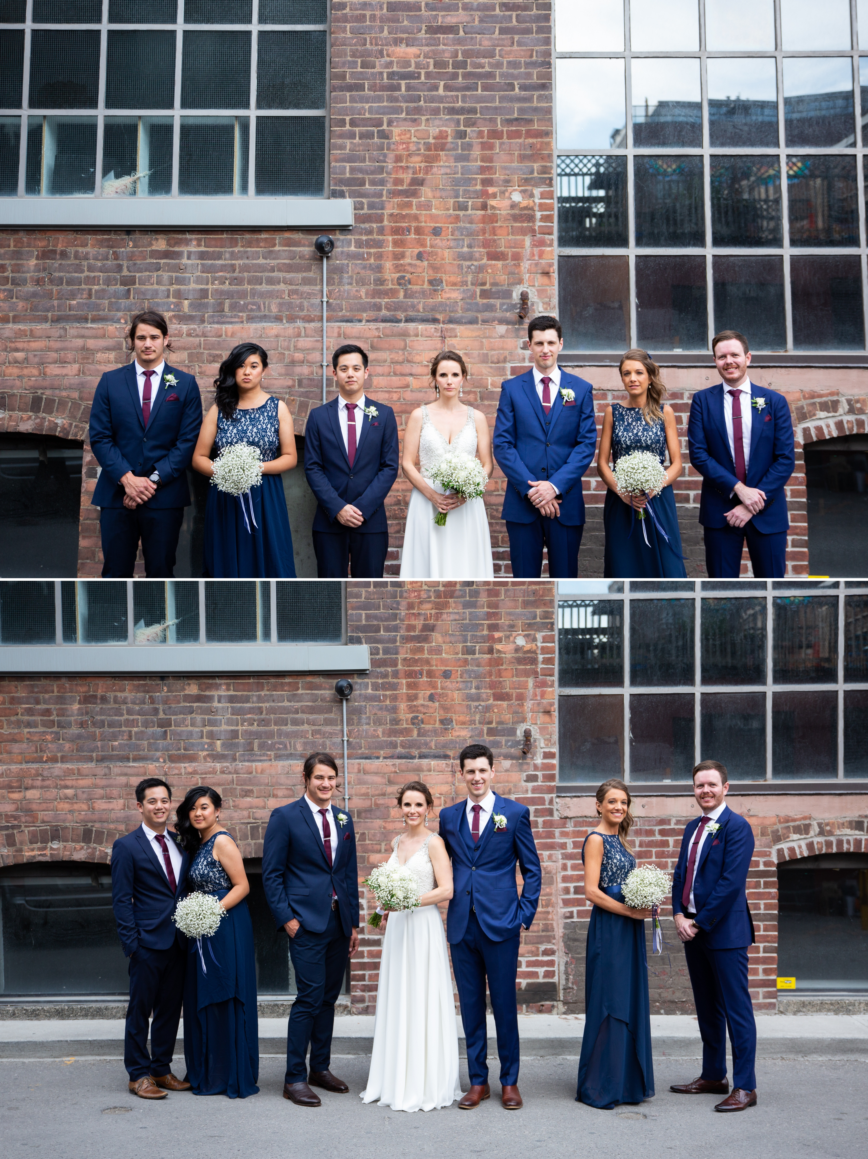 Brick Wall Rustic Toronto Wedding 2nd Floor Events Zsuzsi Pal Photography