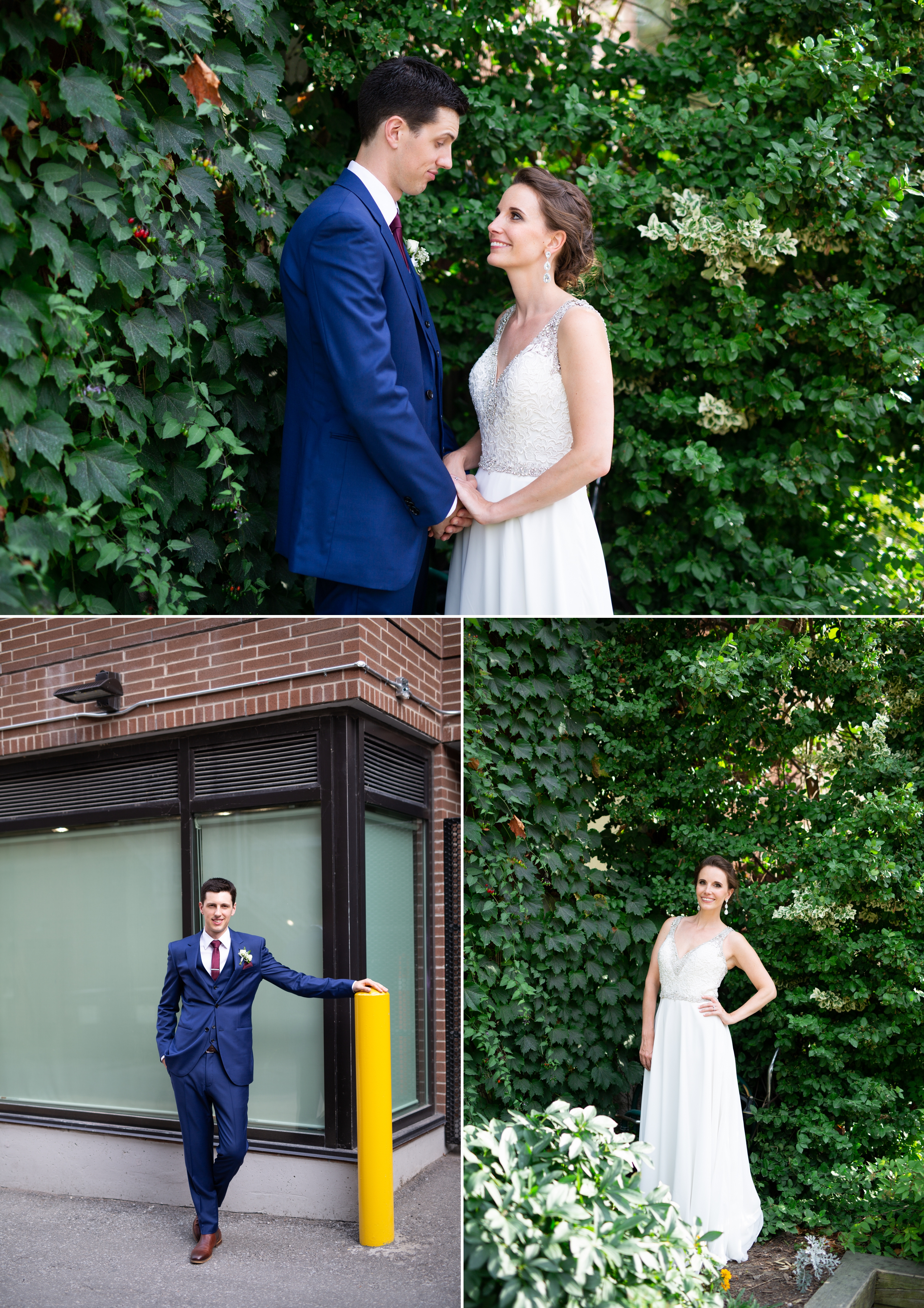 Bride Groom Toronto Wedding 2nd Floor Events Zsuzsi Pal Photography
