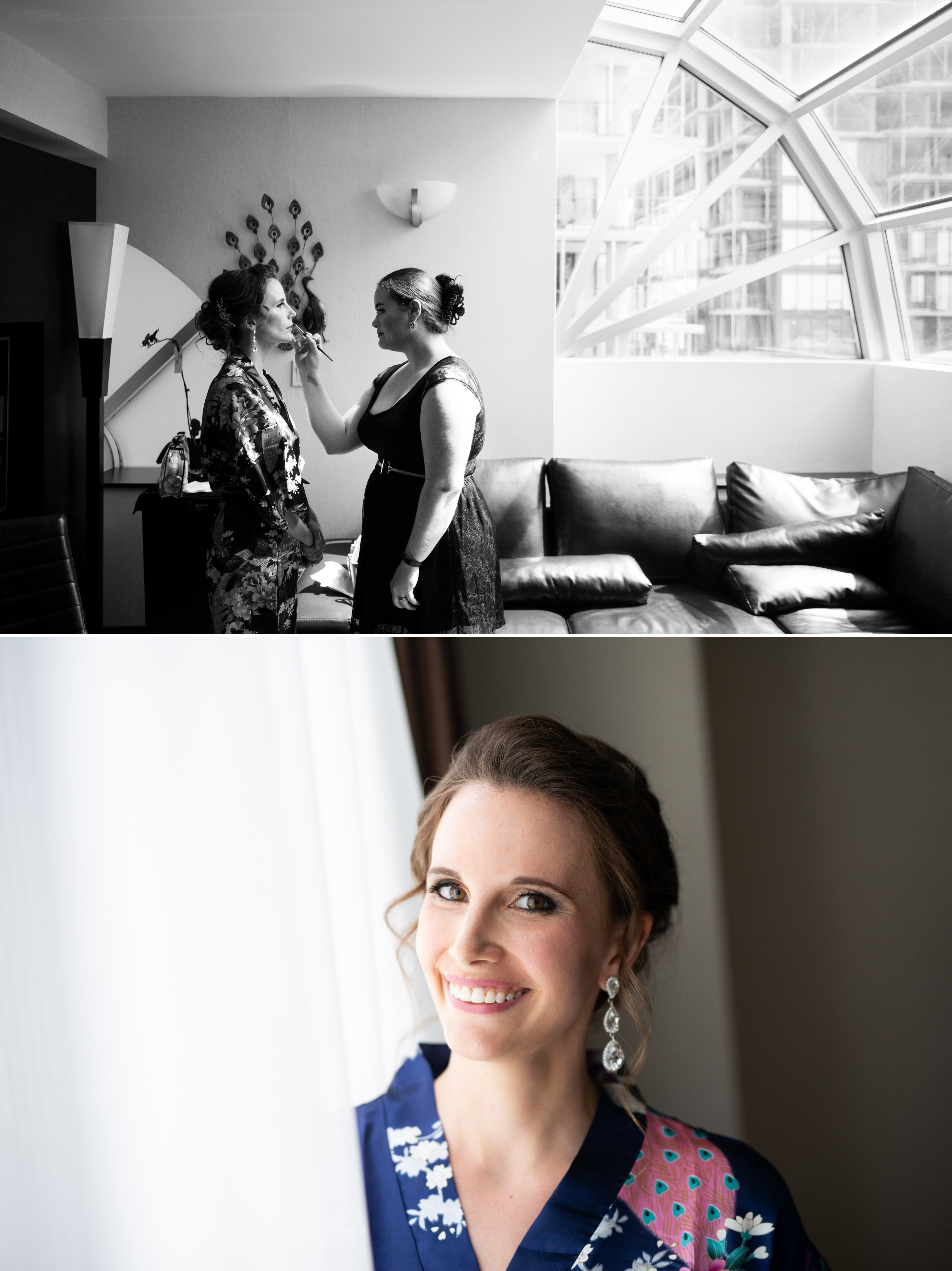 Bride Prep Toronto Wedding 2nd Floor Events Zsuzsi Pal Photography