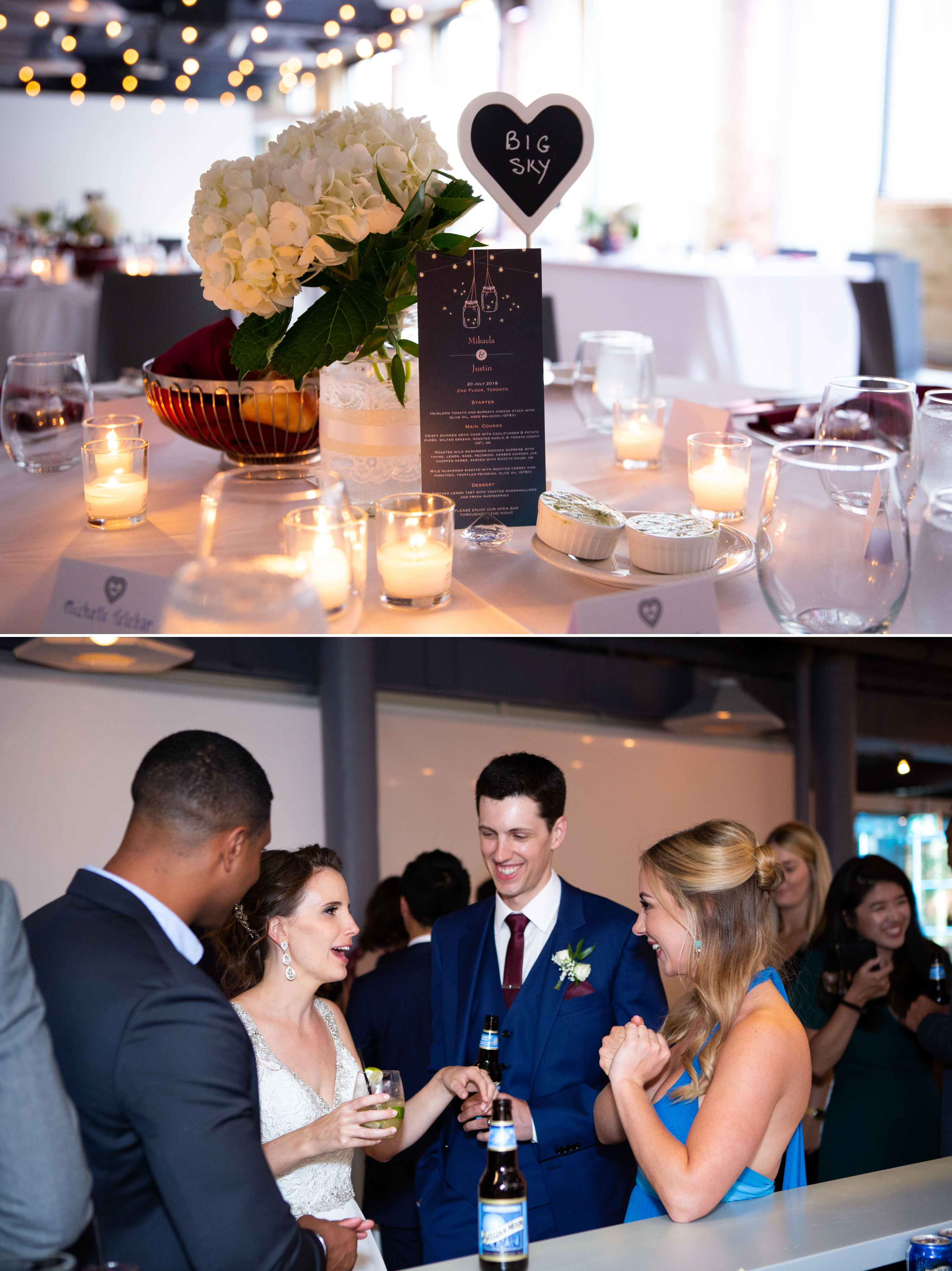 Cnadid Toronto Wedding 2nd Floor Events Zsuzsi Pal Photography Reception