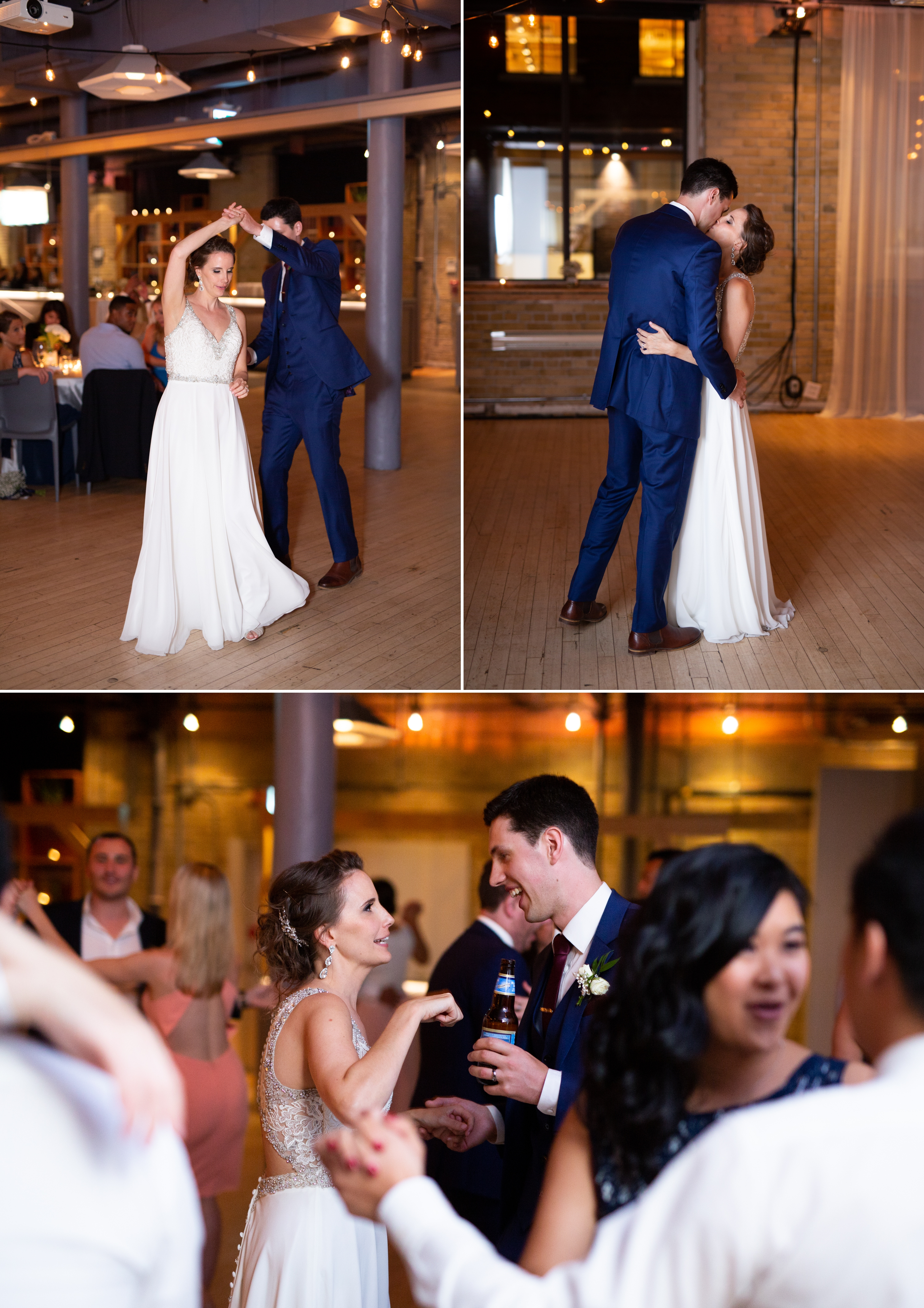 First Dance Toronto Wedding 2nd Floor Events Zsuzsi Pal Photography