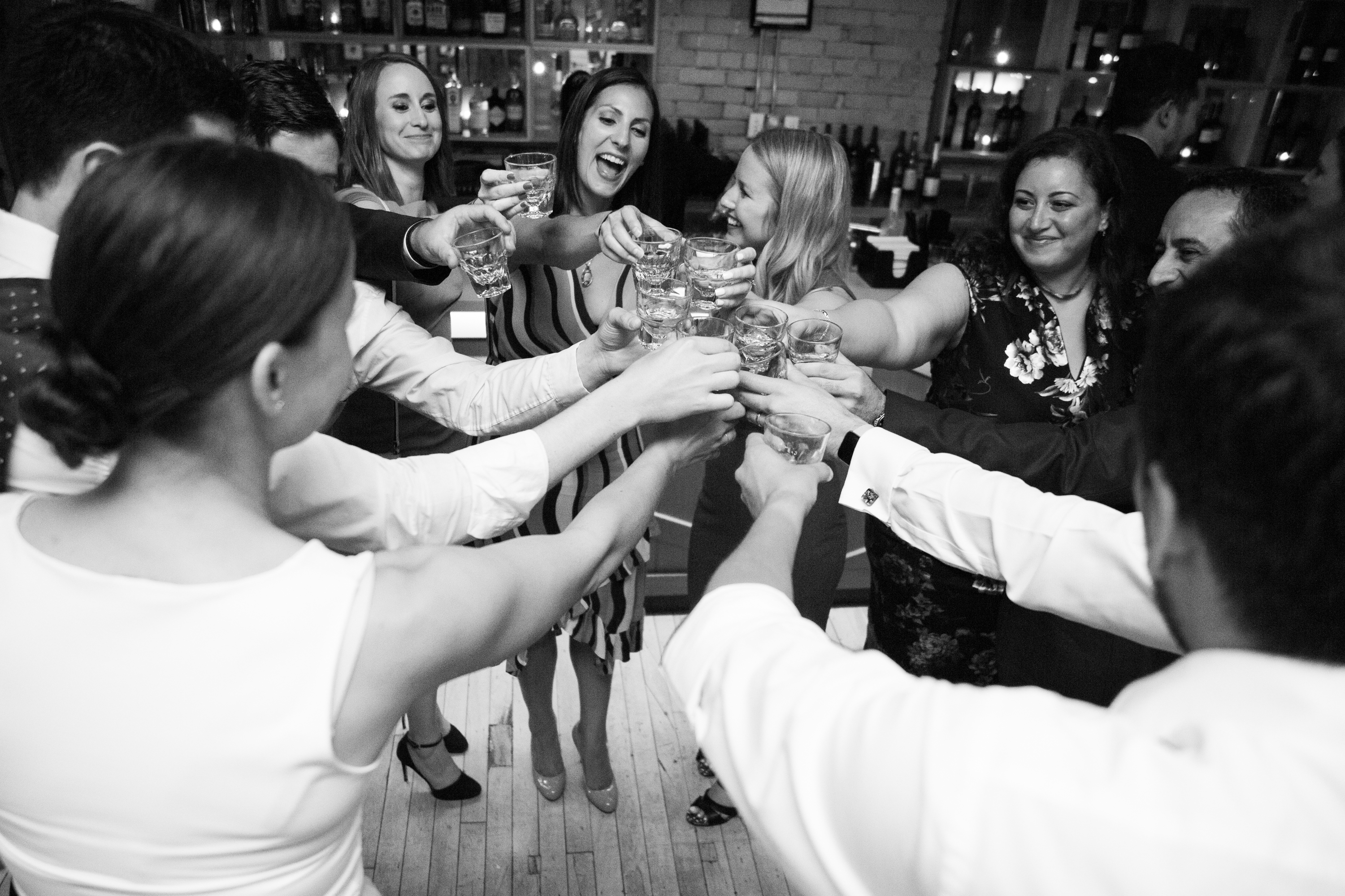 Cheers Toronto Wedding 2nd Floor Events Zsuzsi Pal Photography