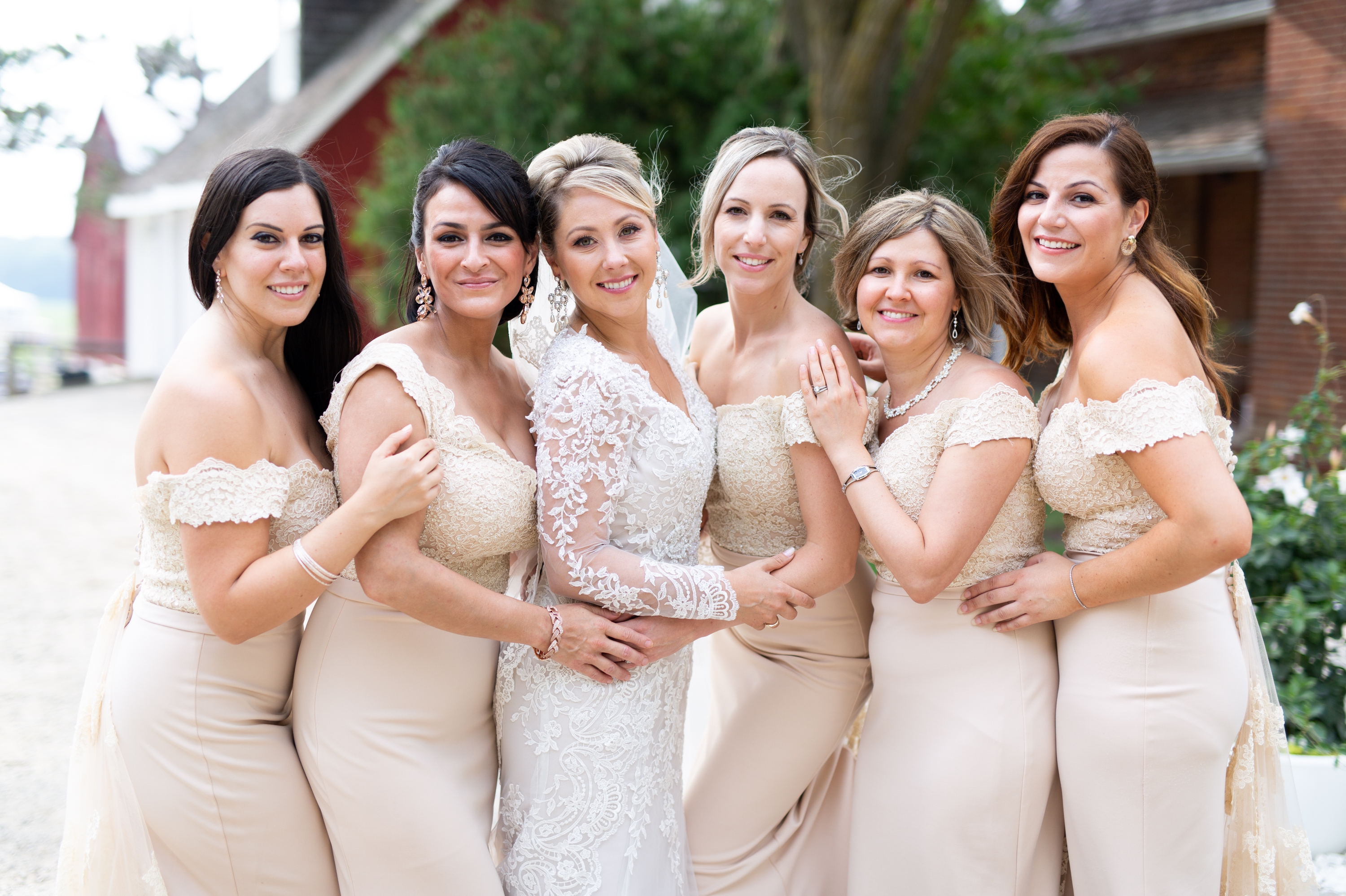 Wedding Party Bridesmaids Wedding Zsuzsi Pal Photography