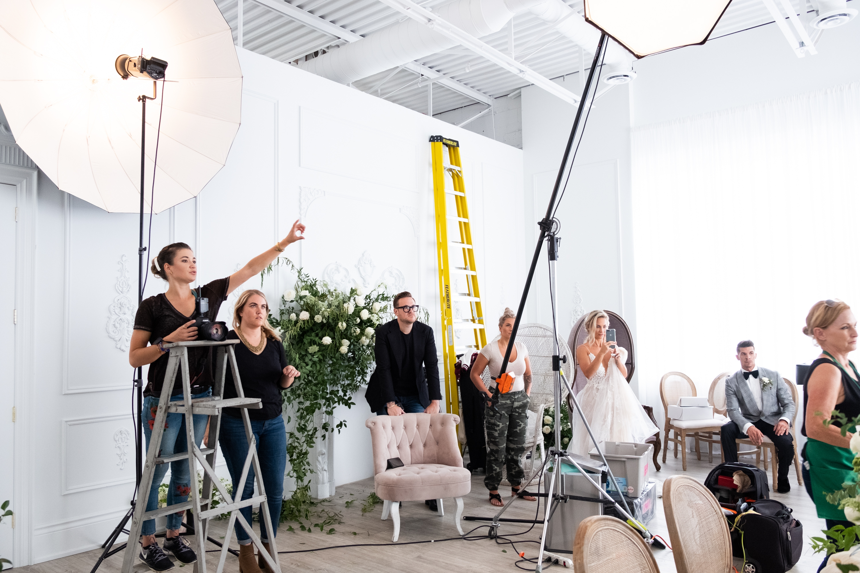 Crew Behind The Scenes Movement In Love Styled Photoshoot Elegant Wedding Zsuzsi Pal Photography Wedding Toronto