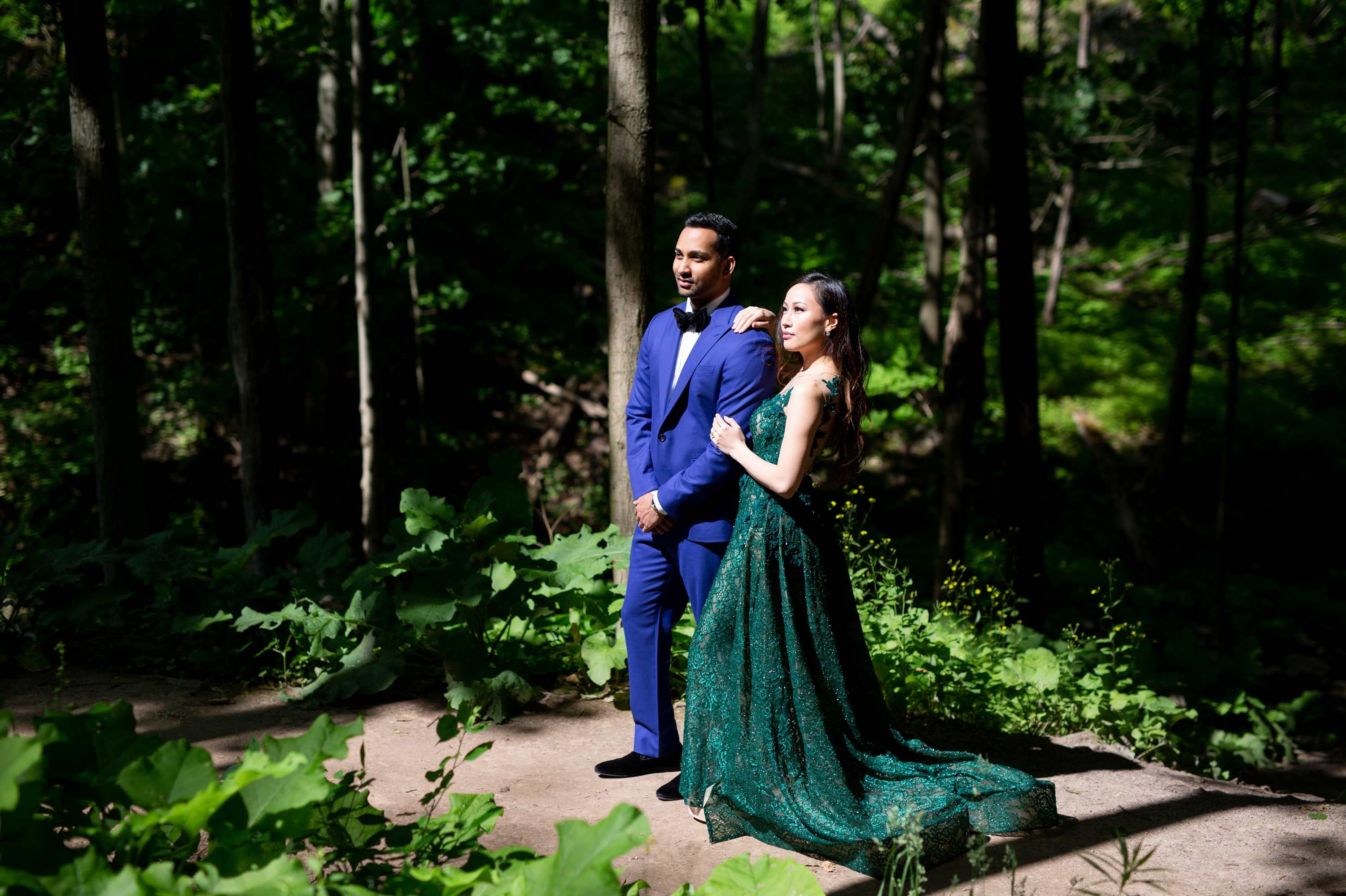 Tiffany Falls Forest Wedding Zsuzsi Pal Photography
