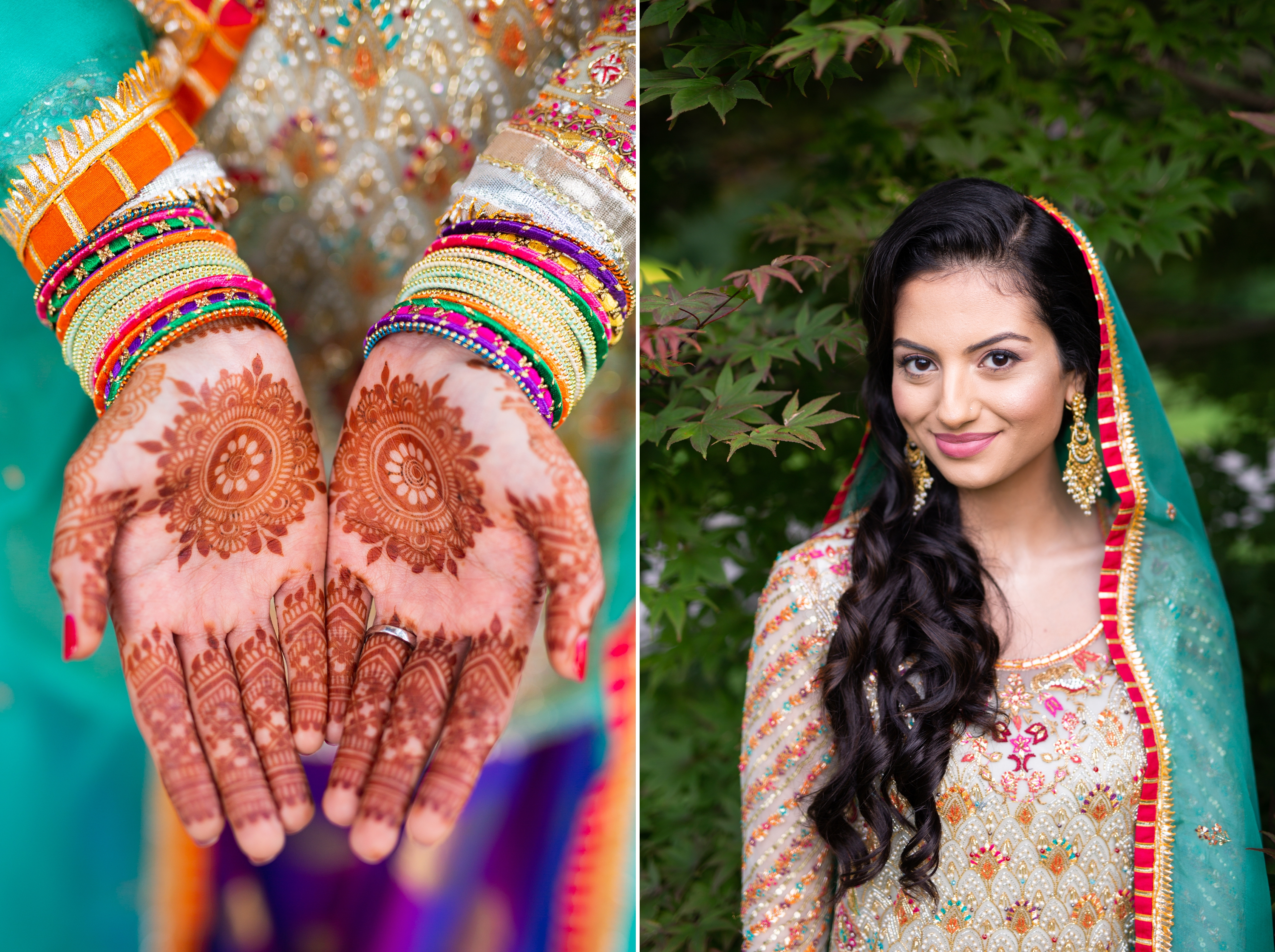 Desi Indian Pakistani Bride Sari Wedding Zsuzsi Pal Photography