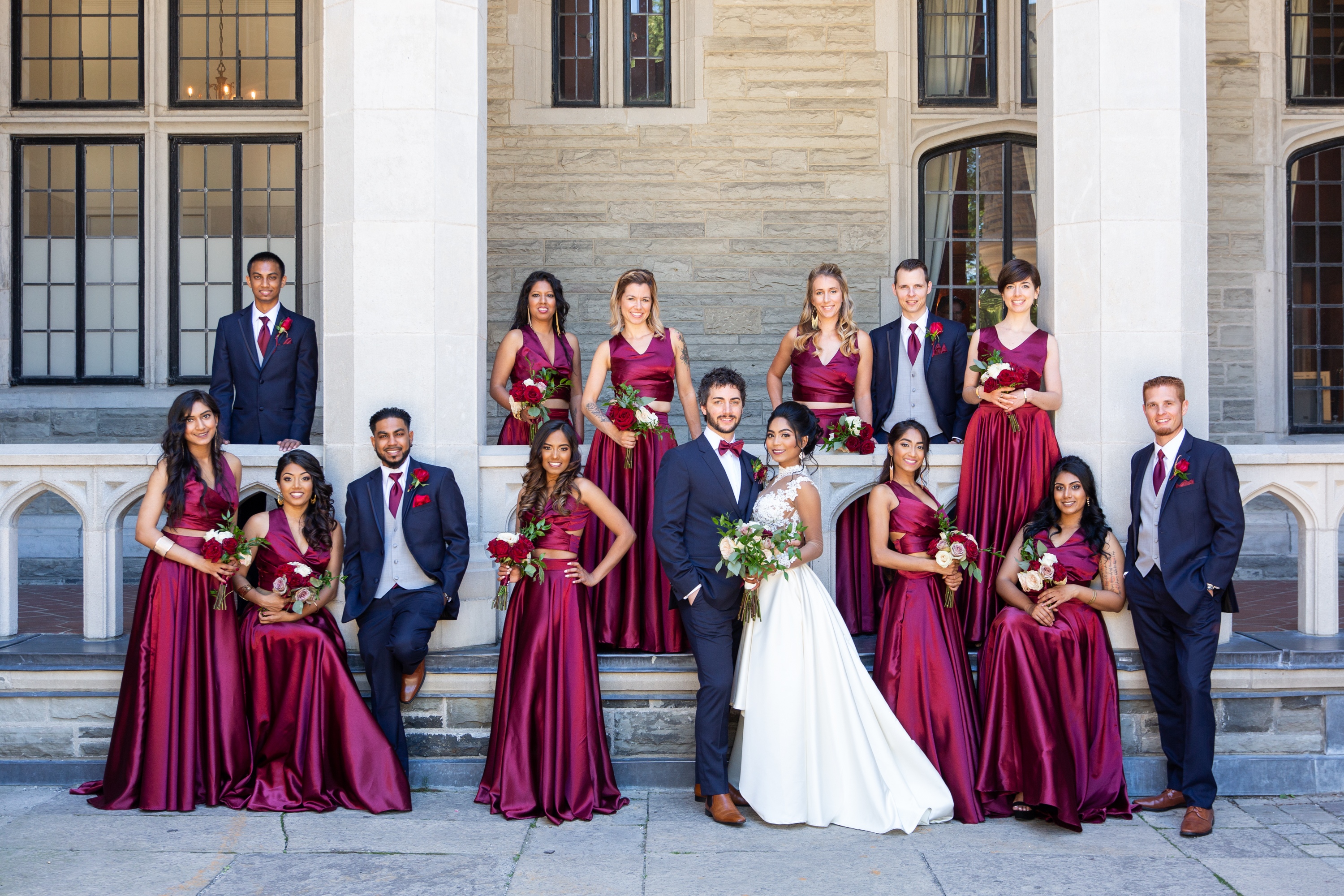Wedding Party Casa Loma Zsuzsi Pal Photography Toronto Wedding