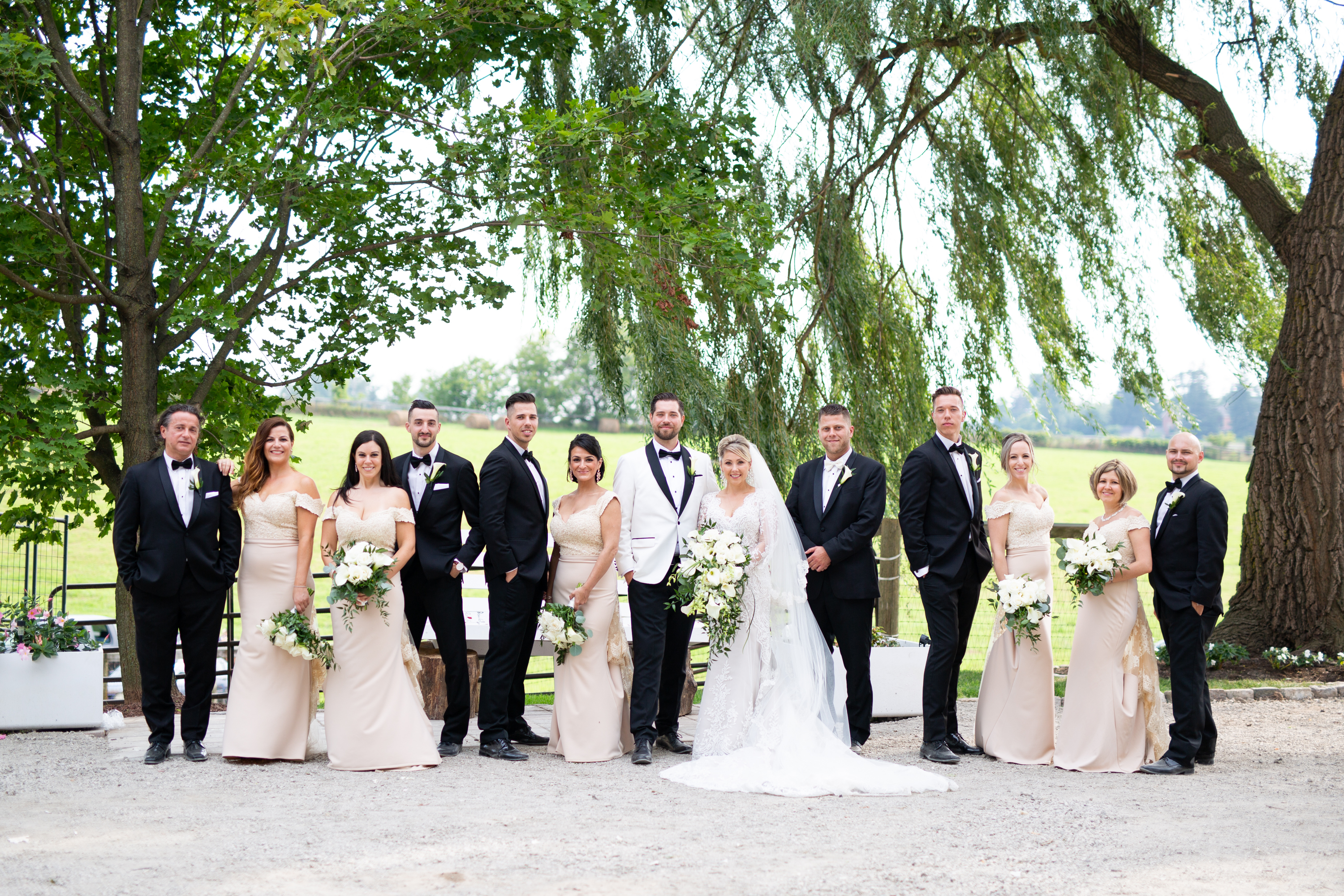 Bridal Party Wedding Party Zsuzsi Pal Photography Toronto Wedding
