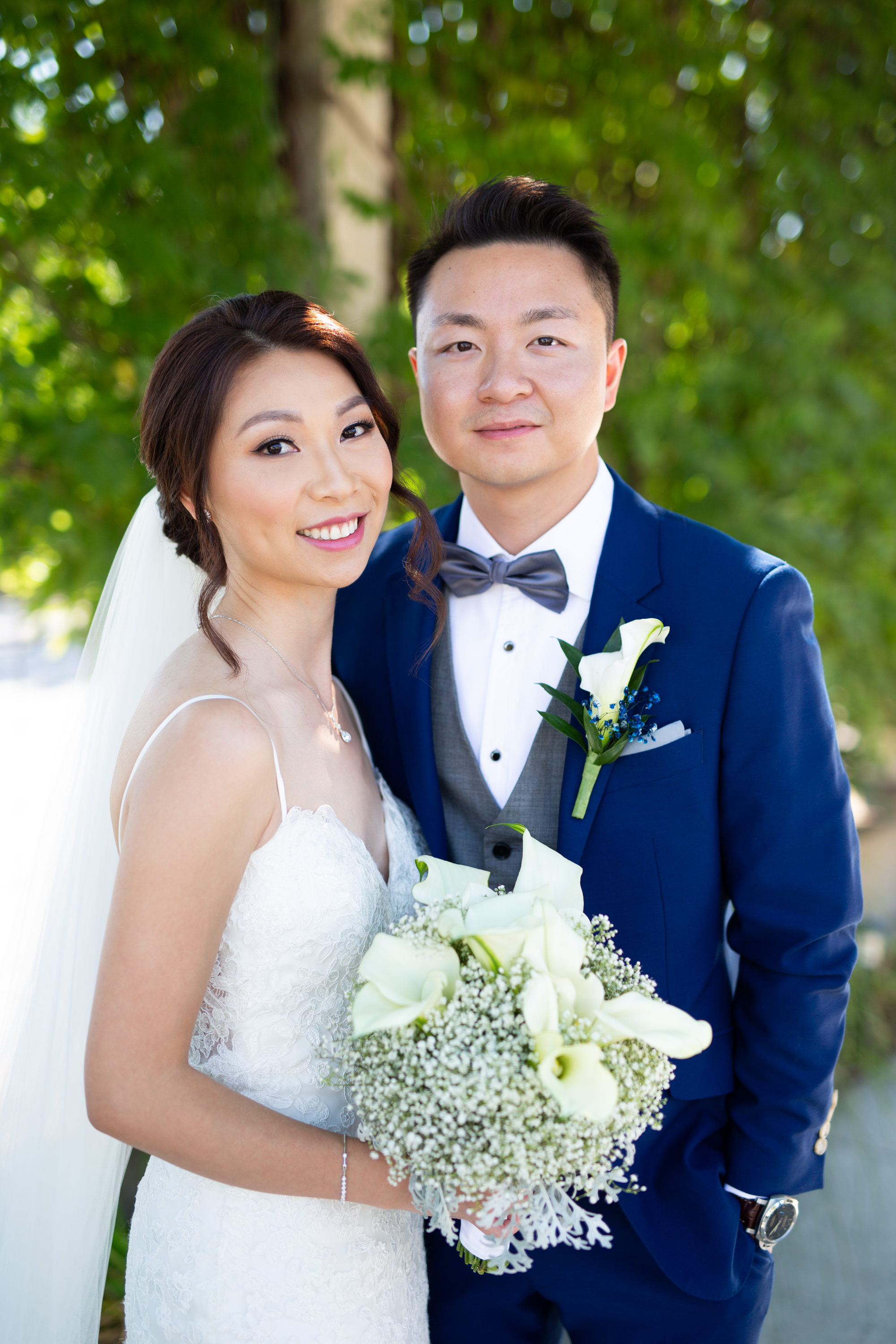 Portrait Bride Groom Chinese Wedding Hacienda Sarria Zsuzsi Pal Photography Toronto