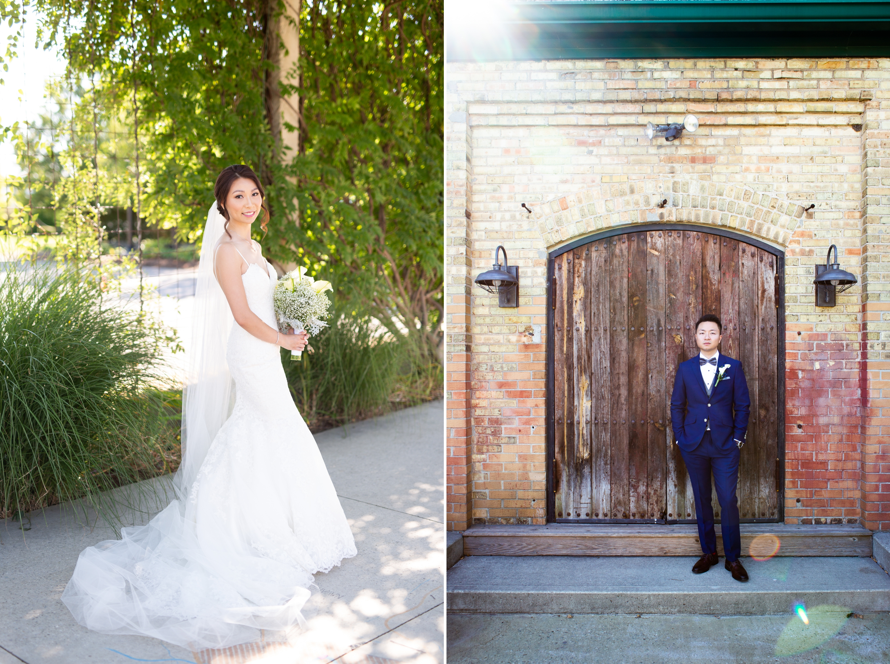 Bride Groom Chinese Wedding Hacienda Sarria Zsuzsi Pal Photography Toronto