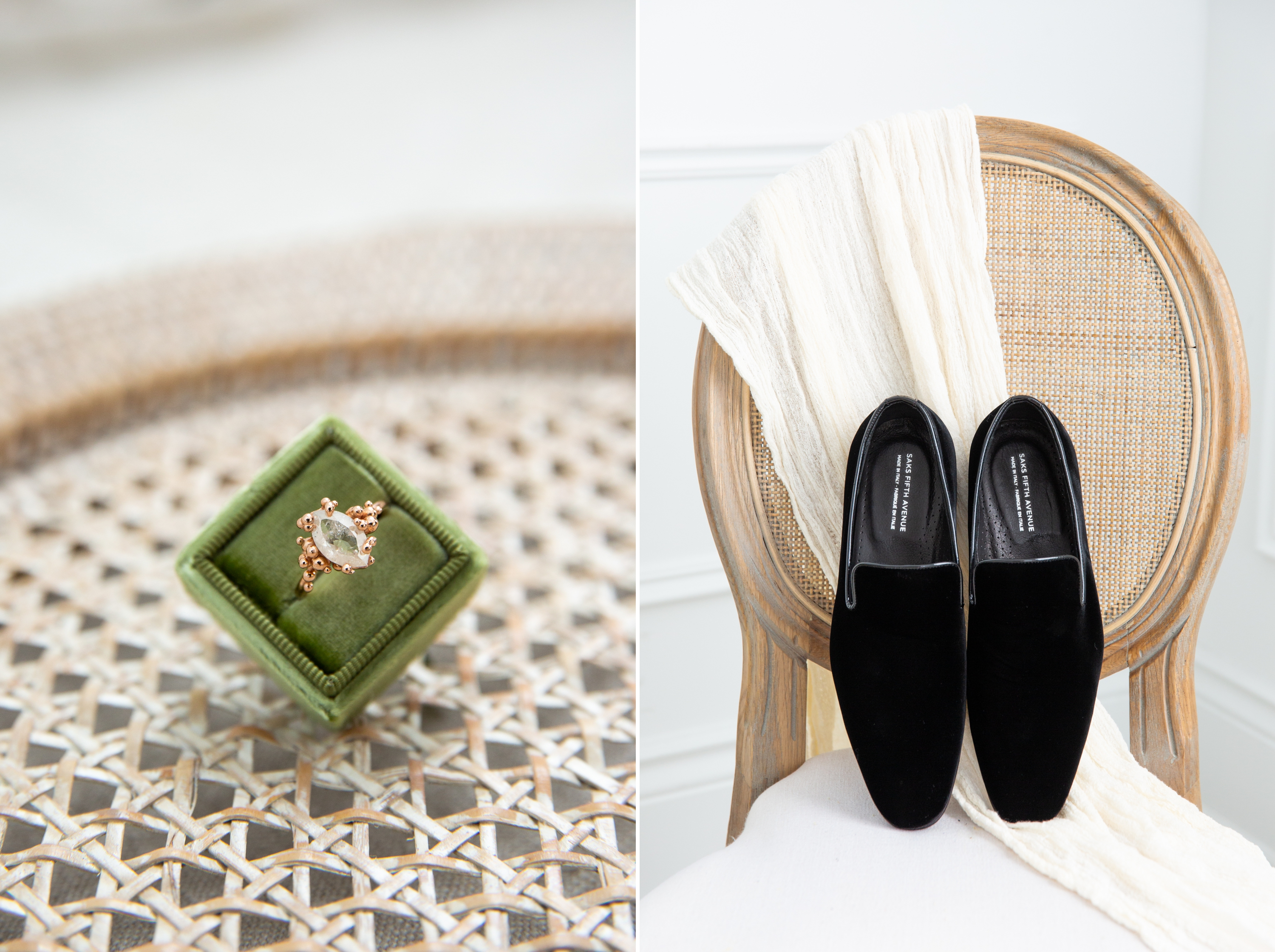 Ring Groom Velvet Shoes Movement In Love Styled Wedding Zsuzsi Pal Photography