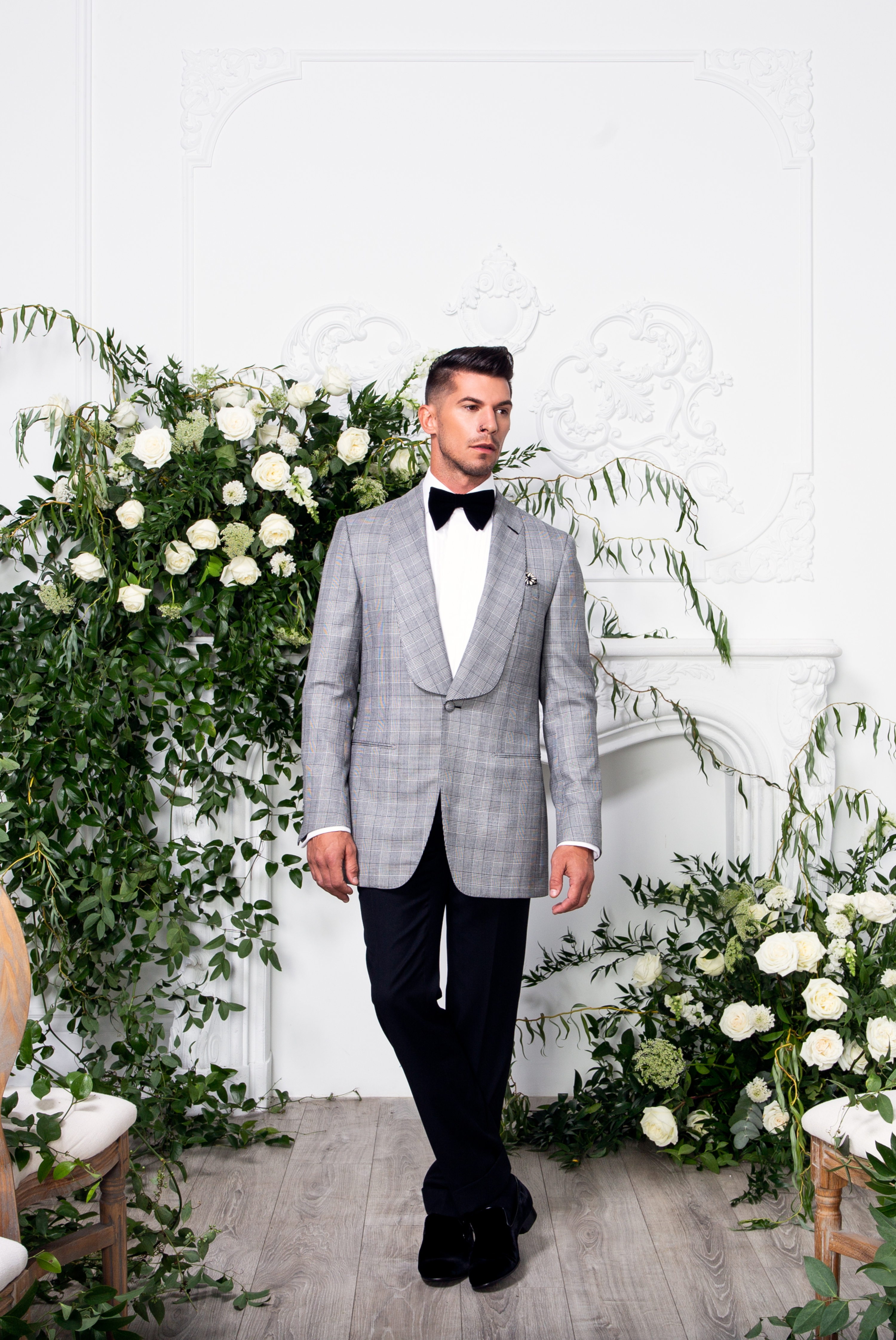 Davignon Suit Groom Movement In Love Styled Wedding Zsuzsi Pal Photography