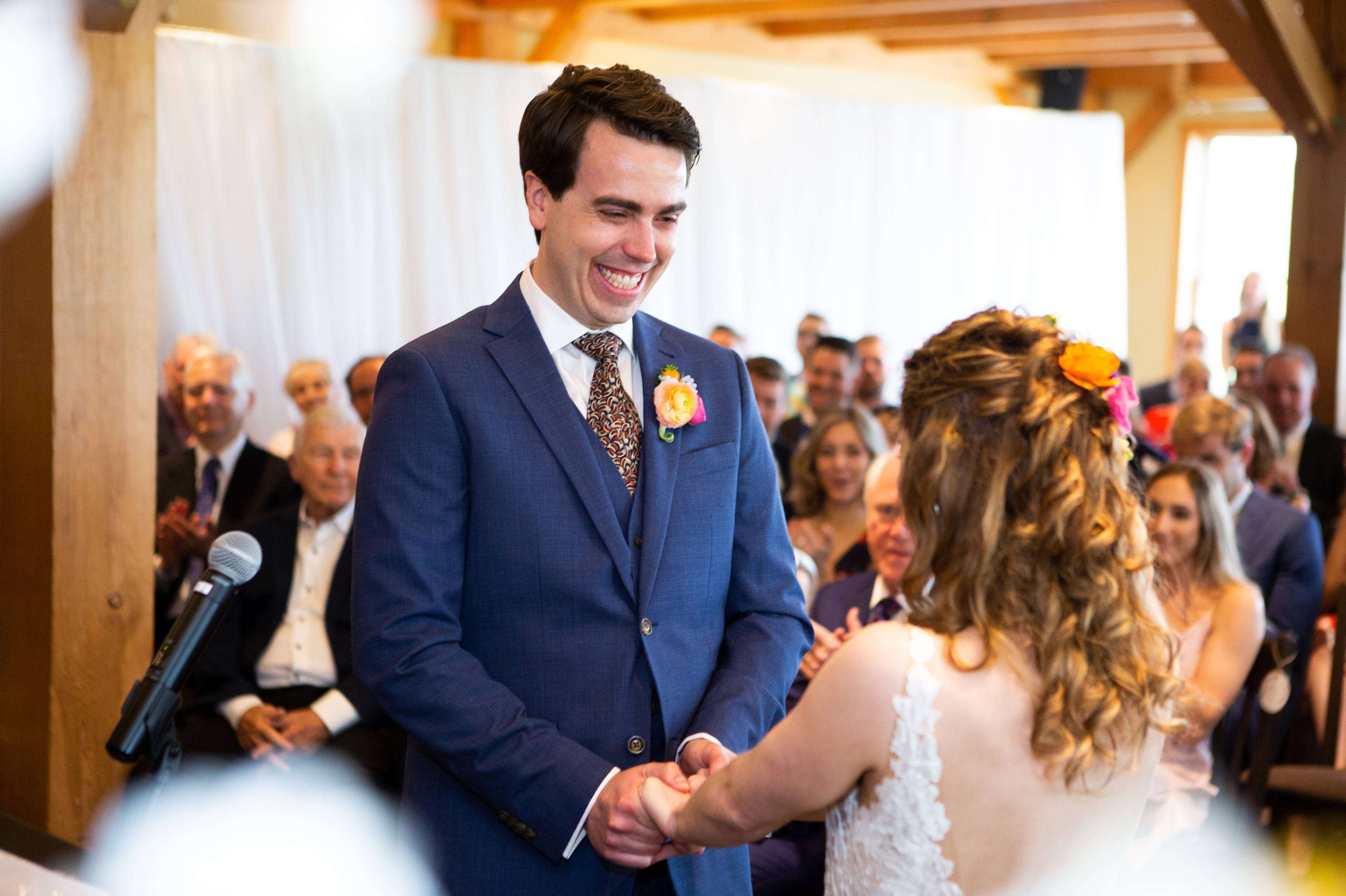 Groom Ceremony Zsuzsi Pal Photography Collingwood Craigleith Wedding