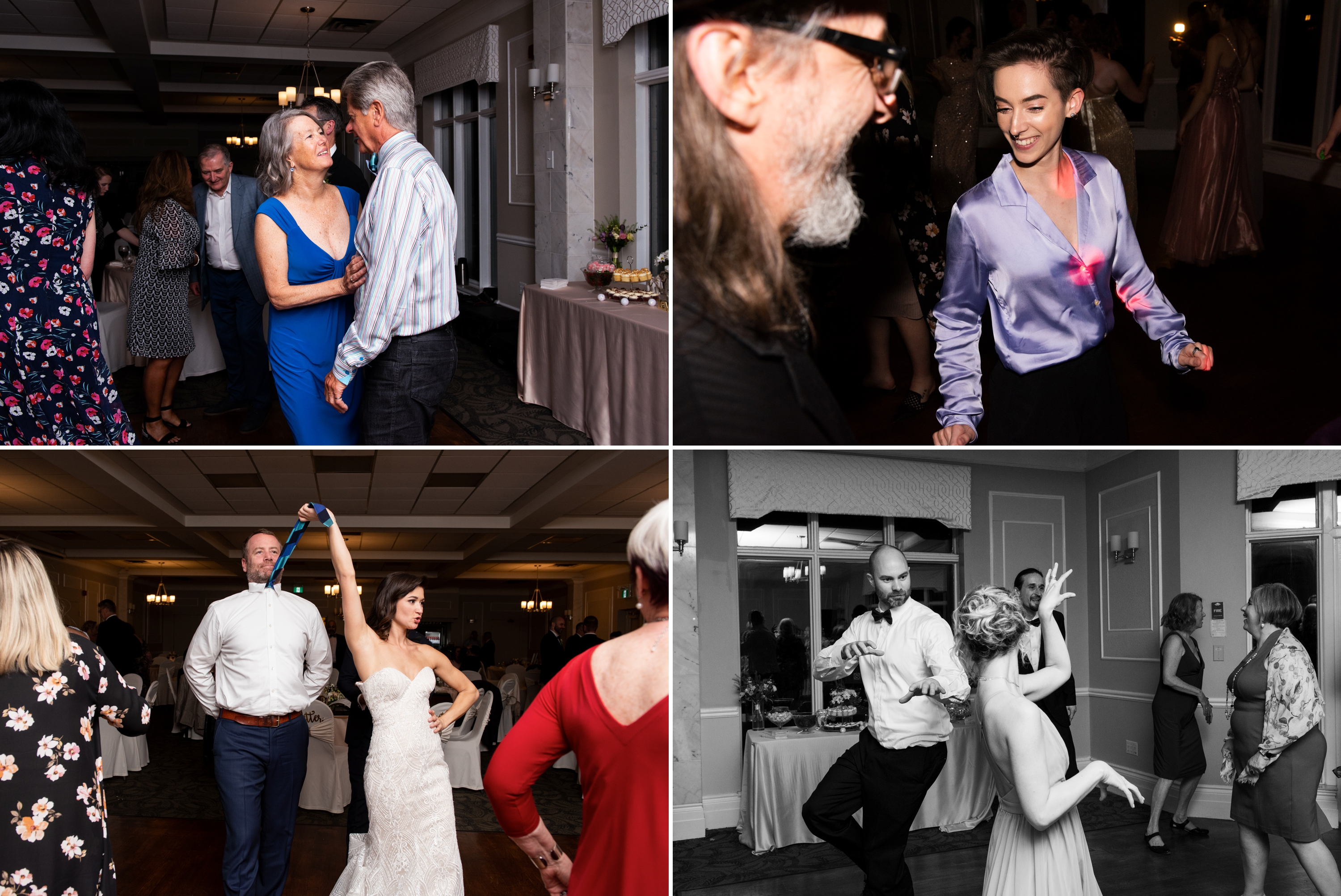Reception Party Josh Zsuzsi Pal Photography Wedding Elmhurst Inn Studio Lumen