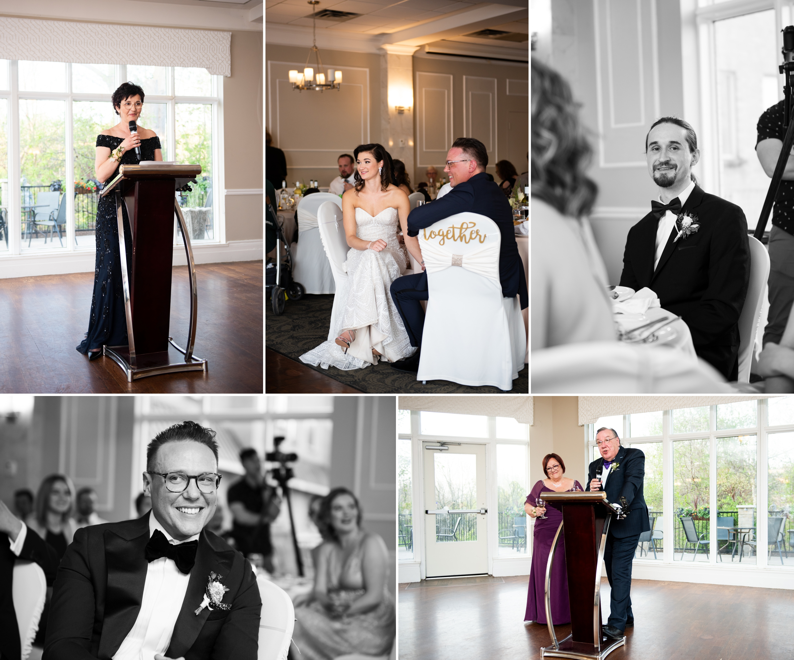 Speeches Parents Josh Zsuzsi Pal Photography Wedding Elmhurst Inn Studio Lumen