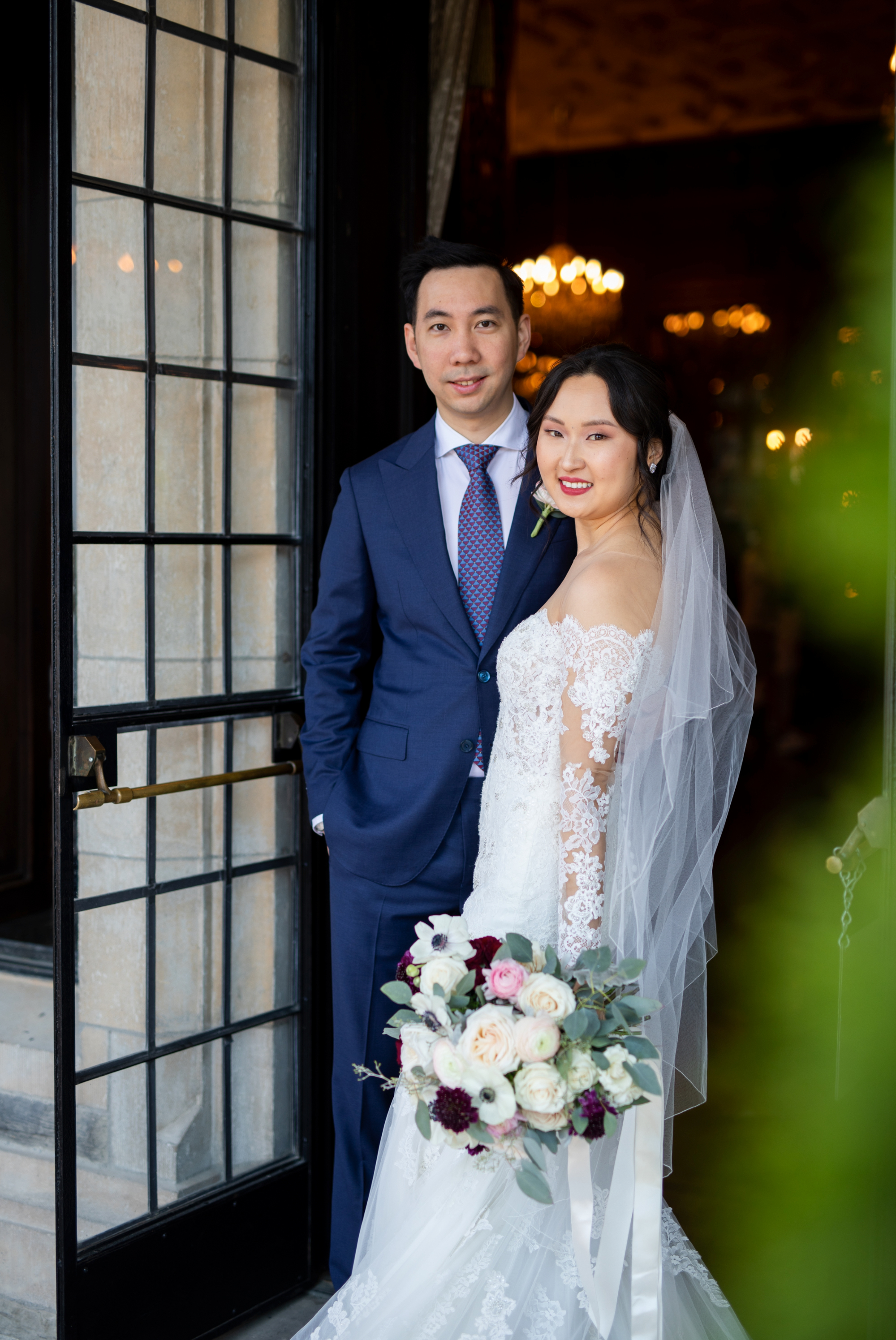 Portrait Toronto Casa Loma Four Seasons Chinese Wedding Zsuzsi Pal Photography Cindy Brian