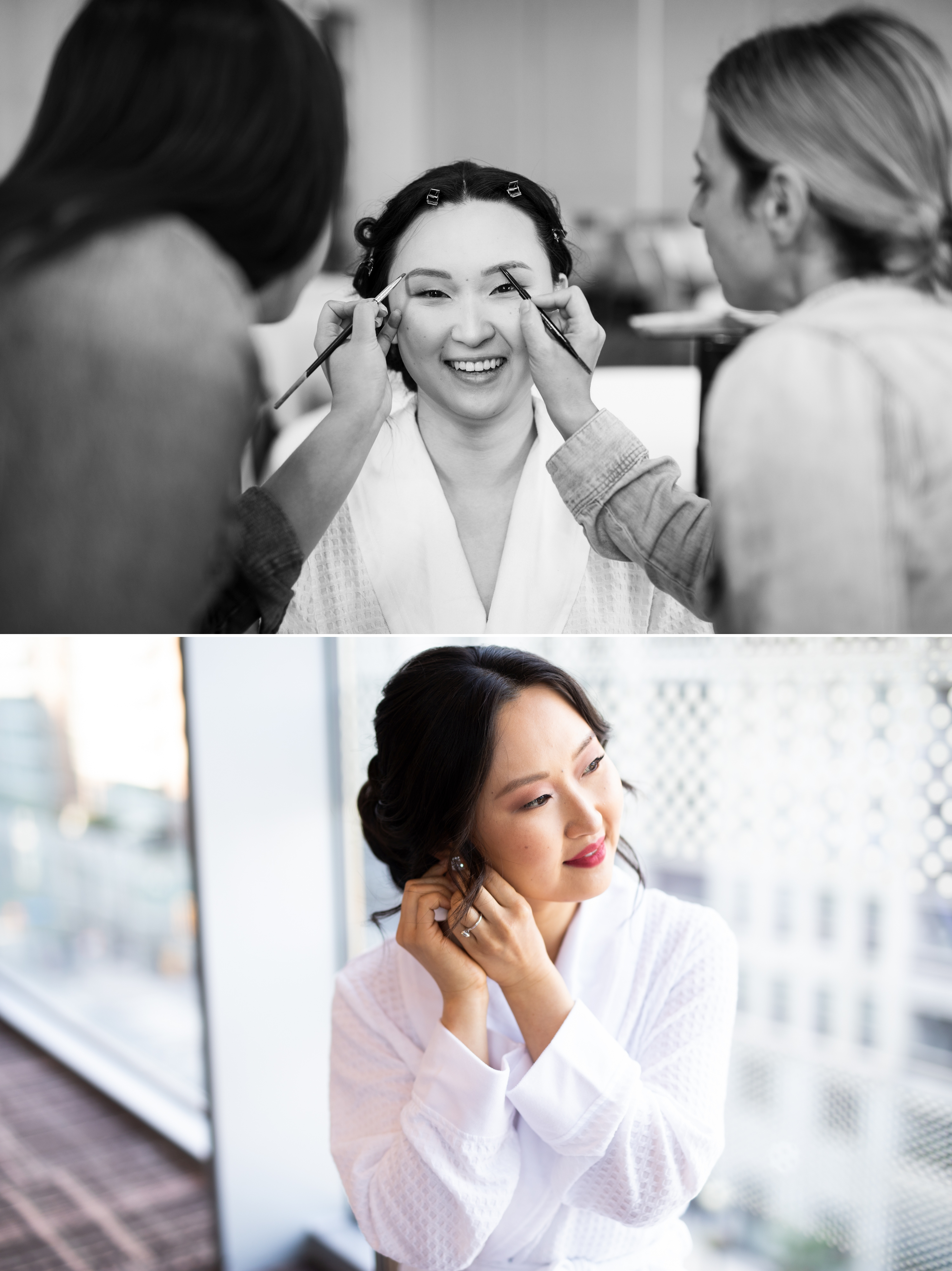 Bride Prep Four Seasons Chinese Wedding Zsuzsi Pal Photography Cindy Brian