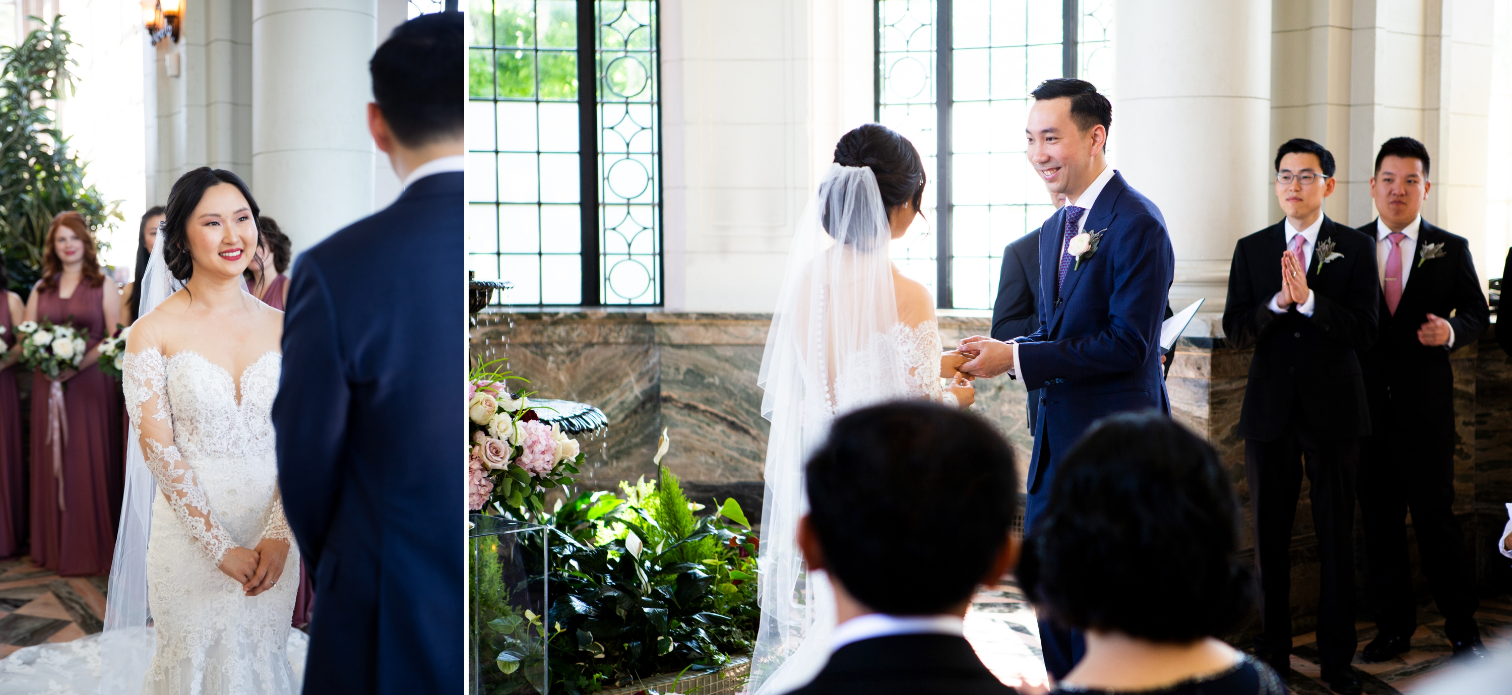 Bride Groom Ceremony Toronto Casa Loma Four Seasons Chinese Wedding Zsuzsi Pal Photography Cindy Brian