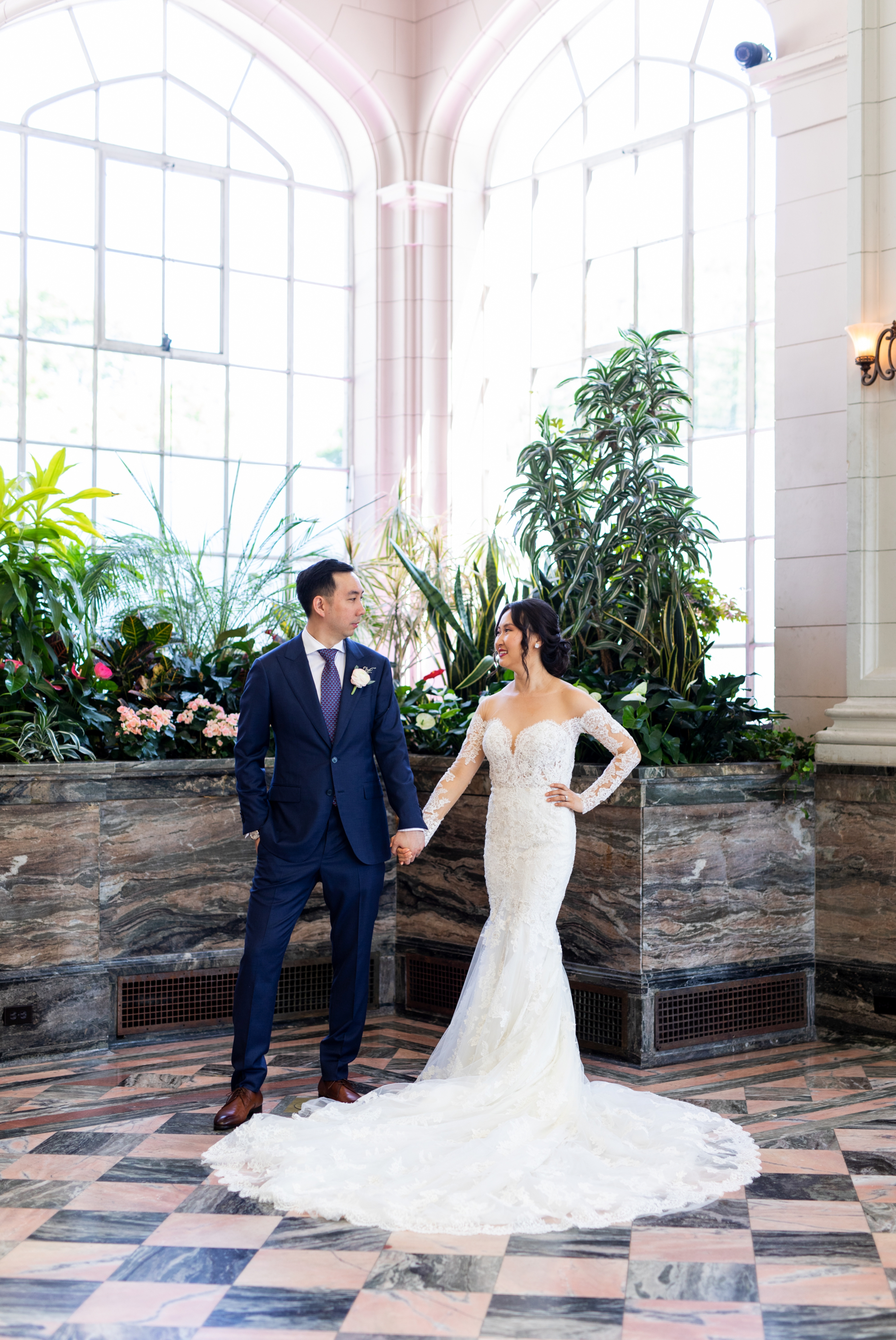 Pronovias Bride Groom Toronto Casa Loma Four Seasons Chinese Wedding Zsuzsi Pal Photography Cindy Brian
