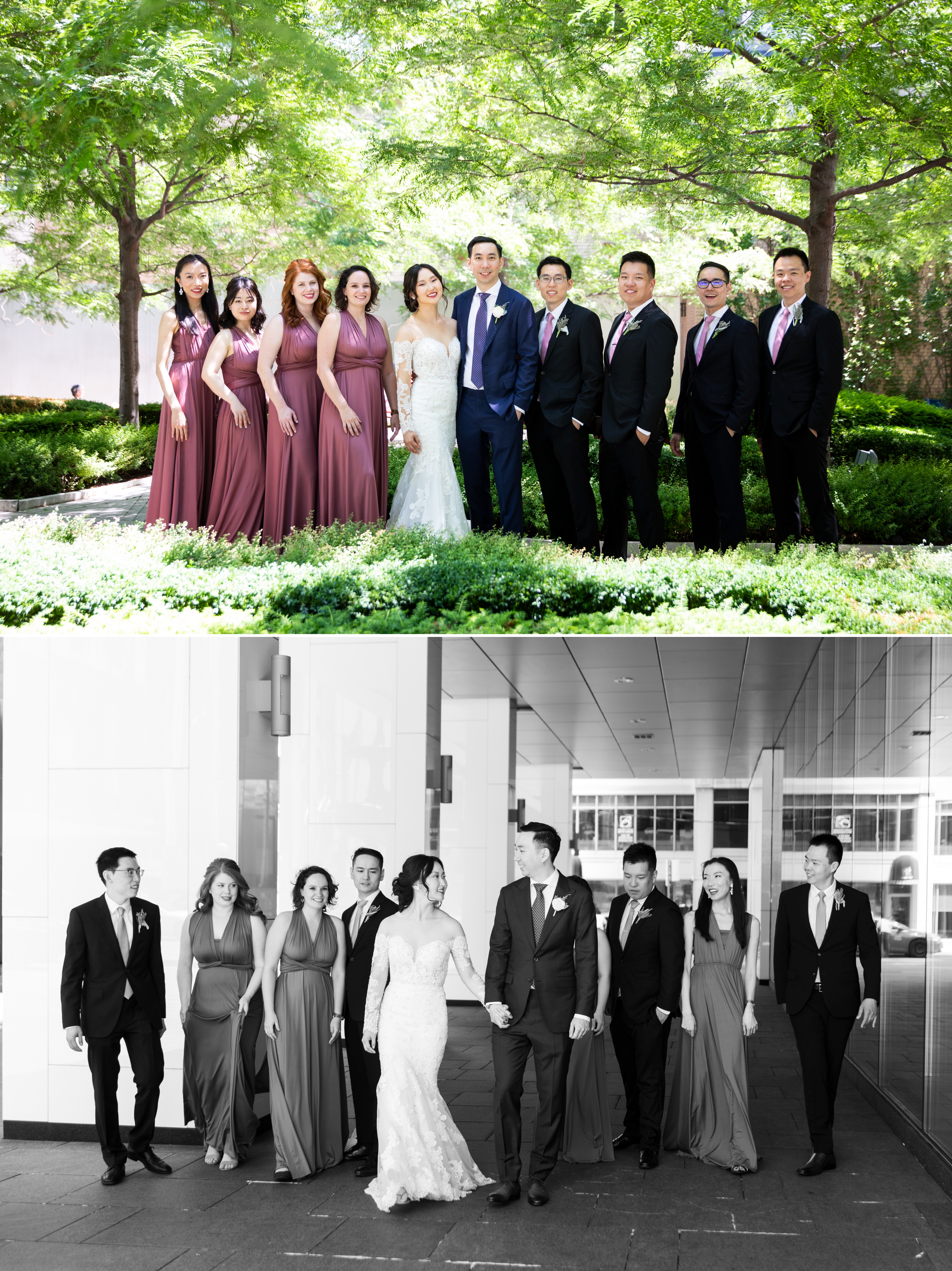 Wedding Party Toronto Four Seasons Chinese Wedding Zsuzsi Pal Photography Cindy Brian