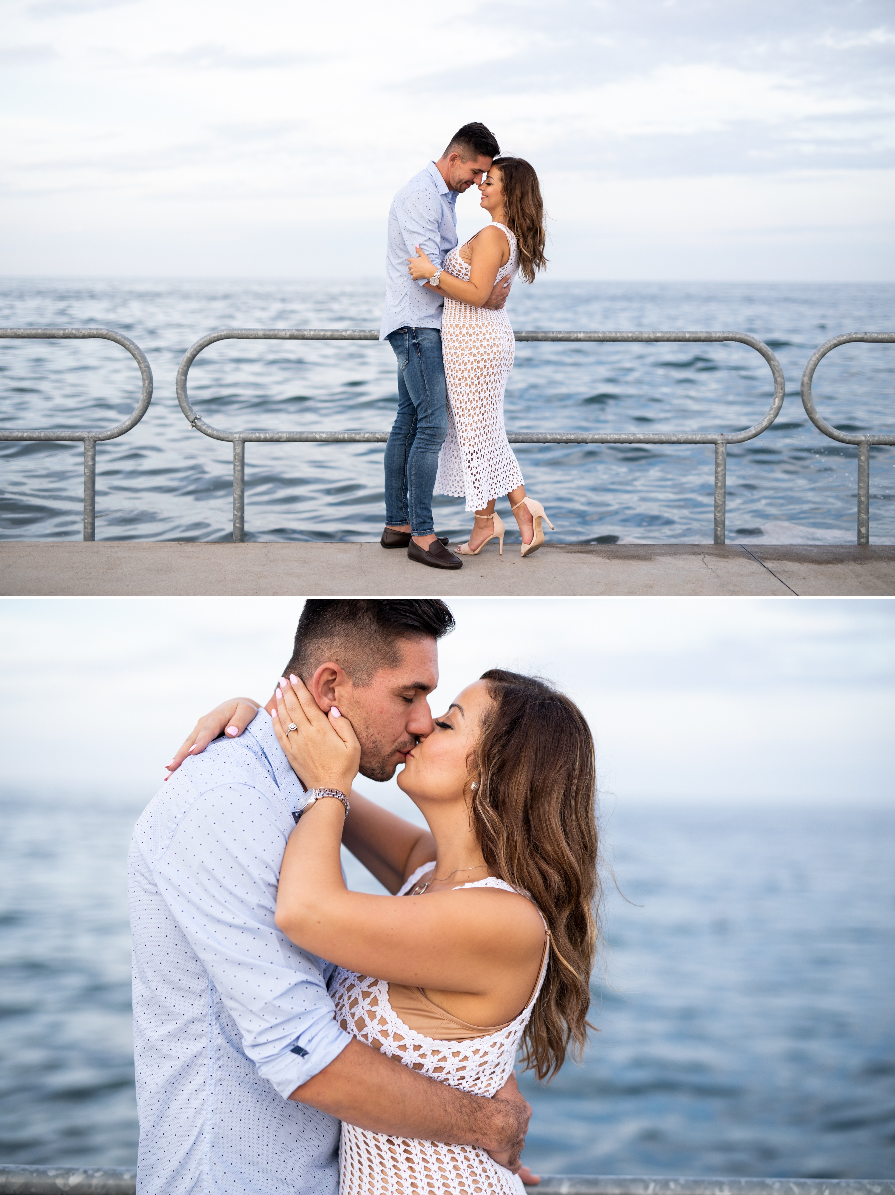 Kiss Emoke and Erno Engagement Oakville Pier Zsuzsi Pal Photography