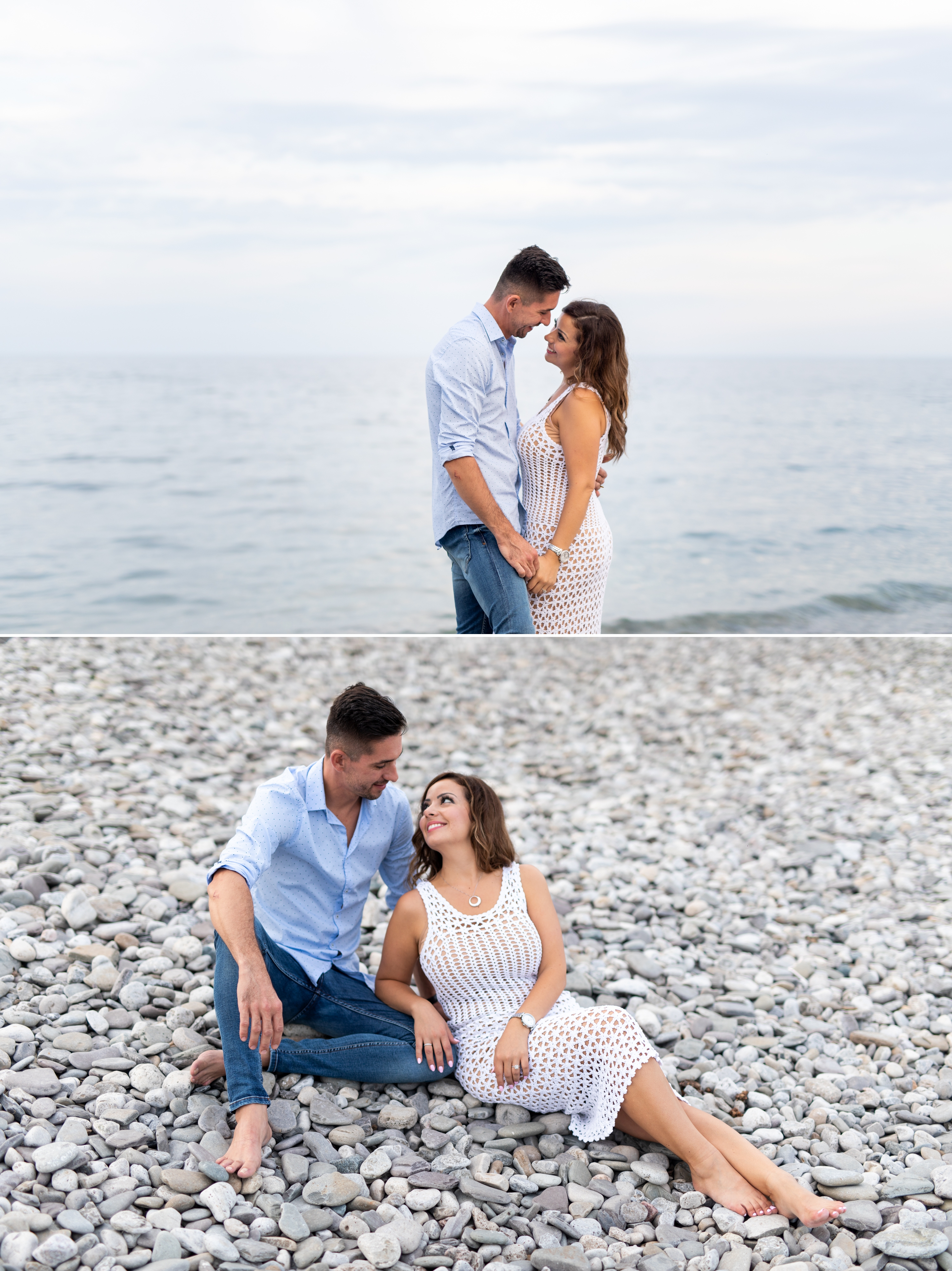 Pebble Beach Emoke and Erno Engagement Oakville Pier Zsuzsi Pal Photography