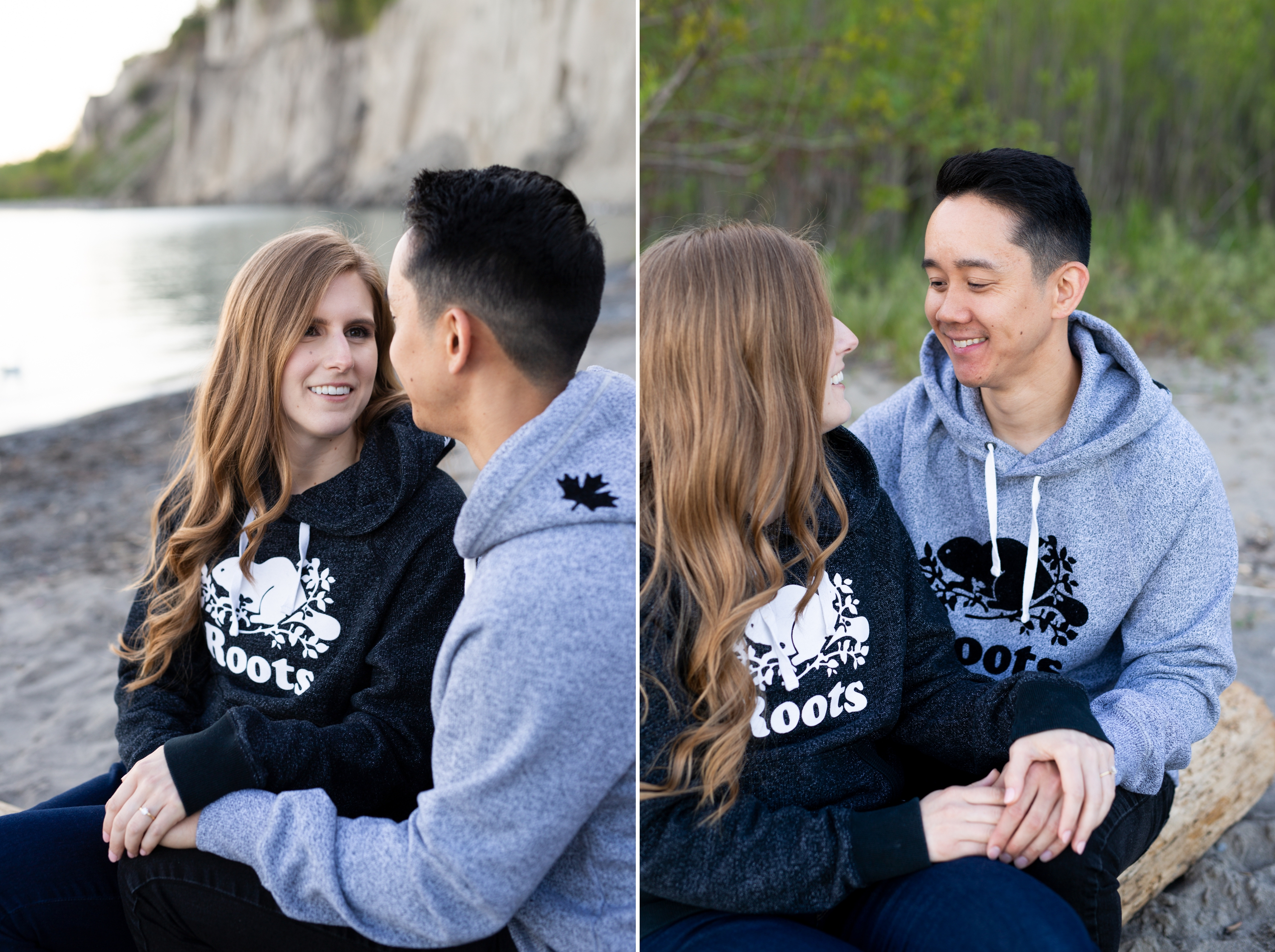 Bride and Groom Scarborough Bluffs Engagement Summer Zsuzsi Pal Photography