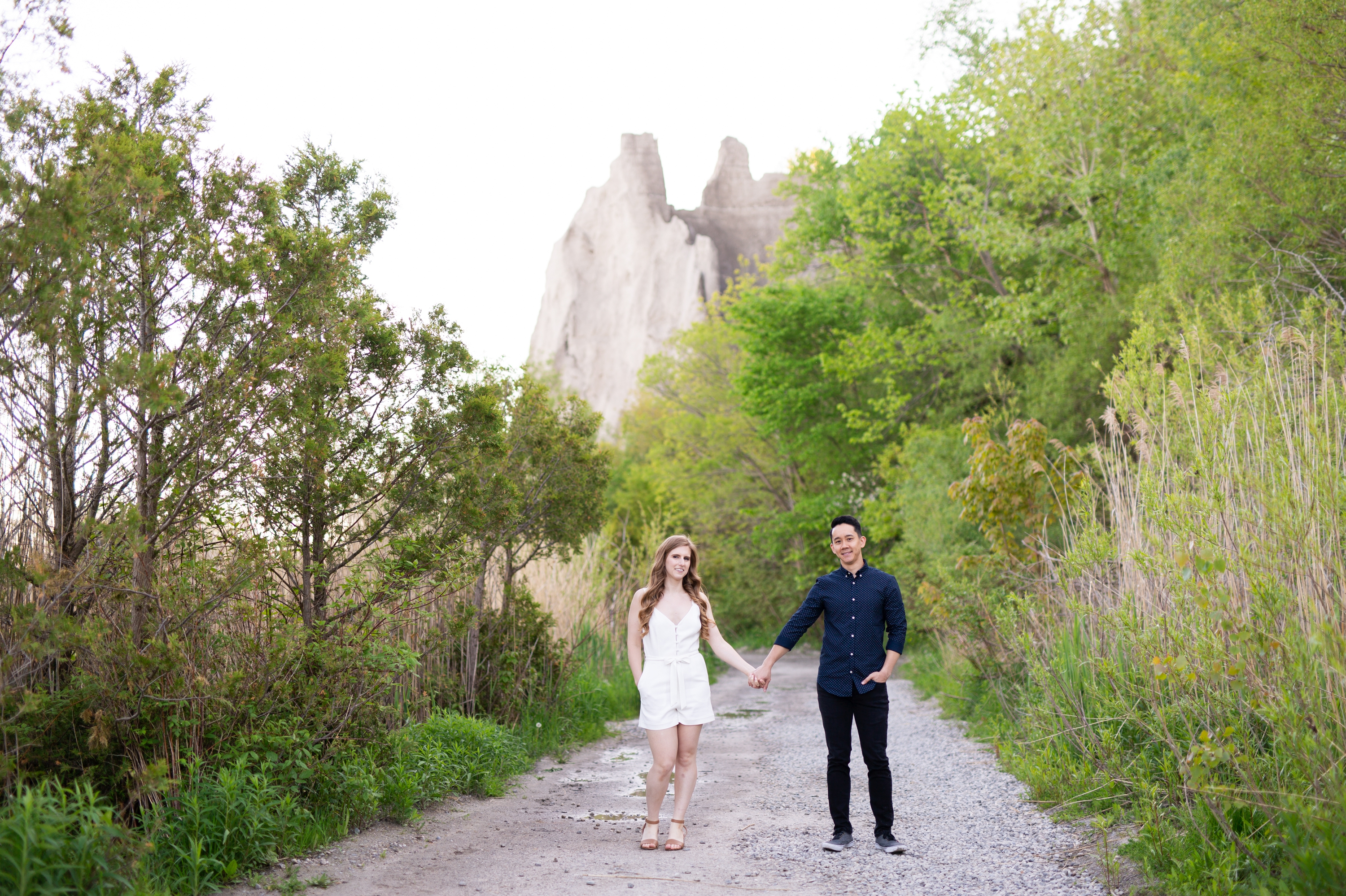 Cliffs Scarborough Bluffs Engagement Summer Zsuzsi Pal Photography