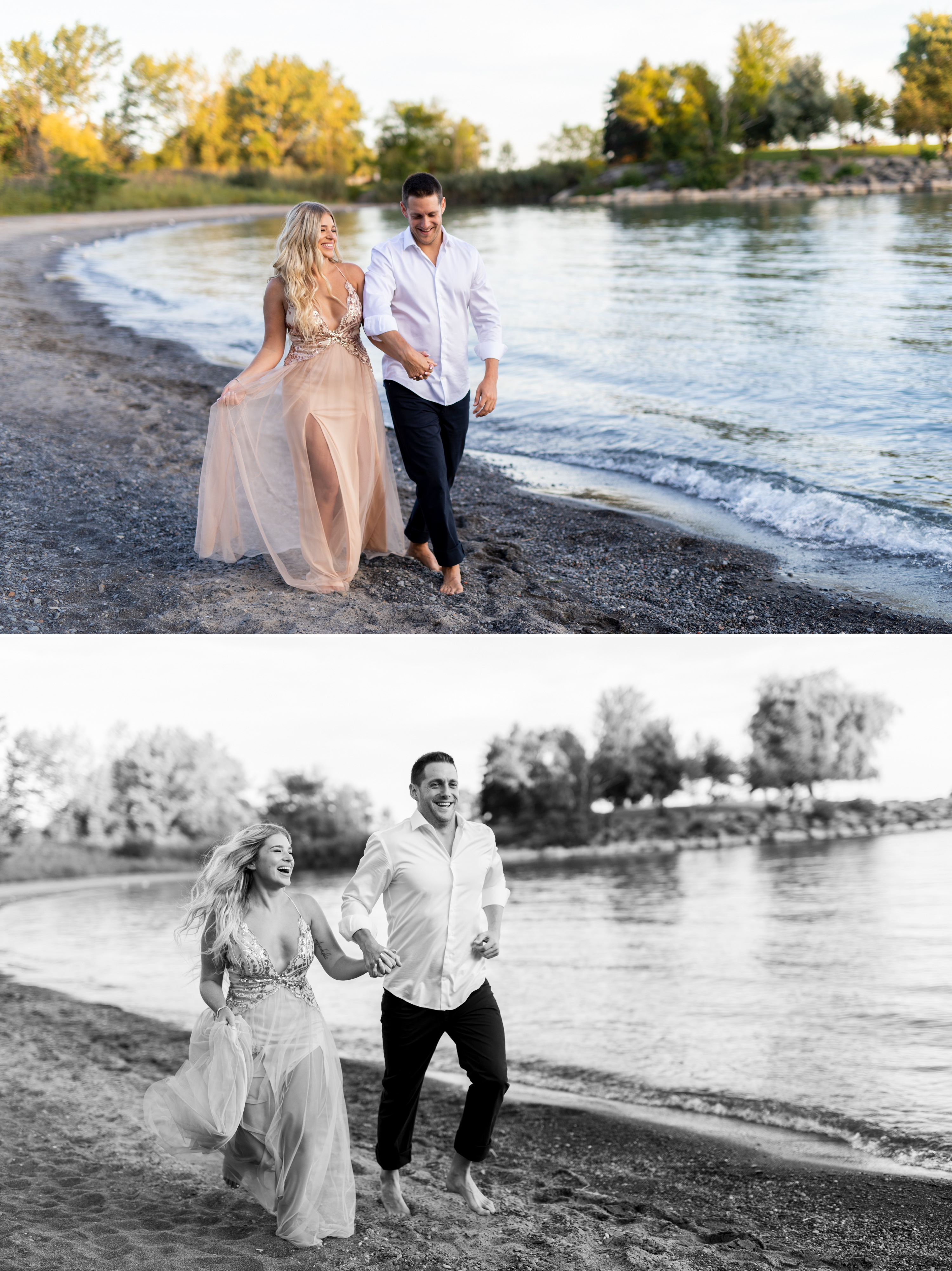Zsuzsi Pal Photography, Guild Inn, Scarborough Bluffs, Engagement, Toronto, Beach Run