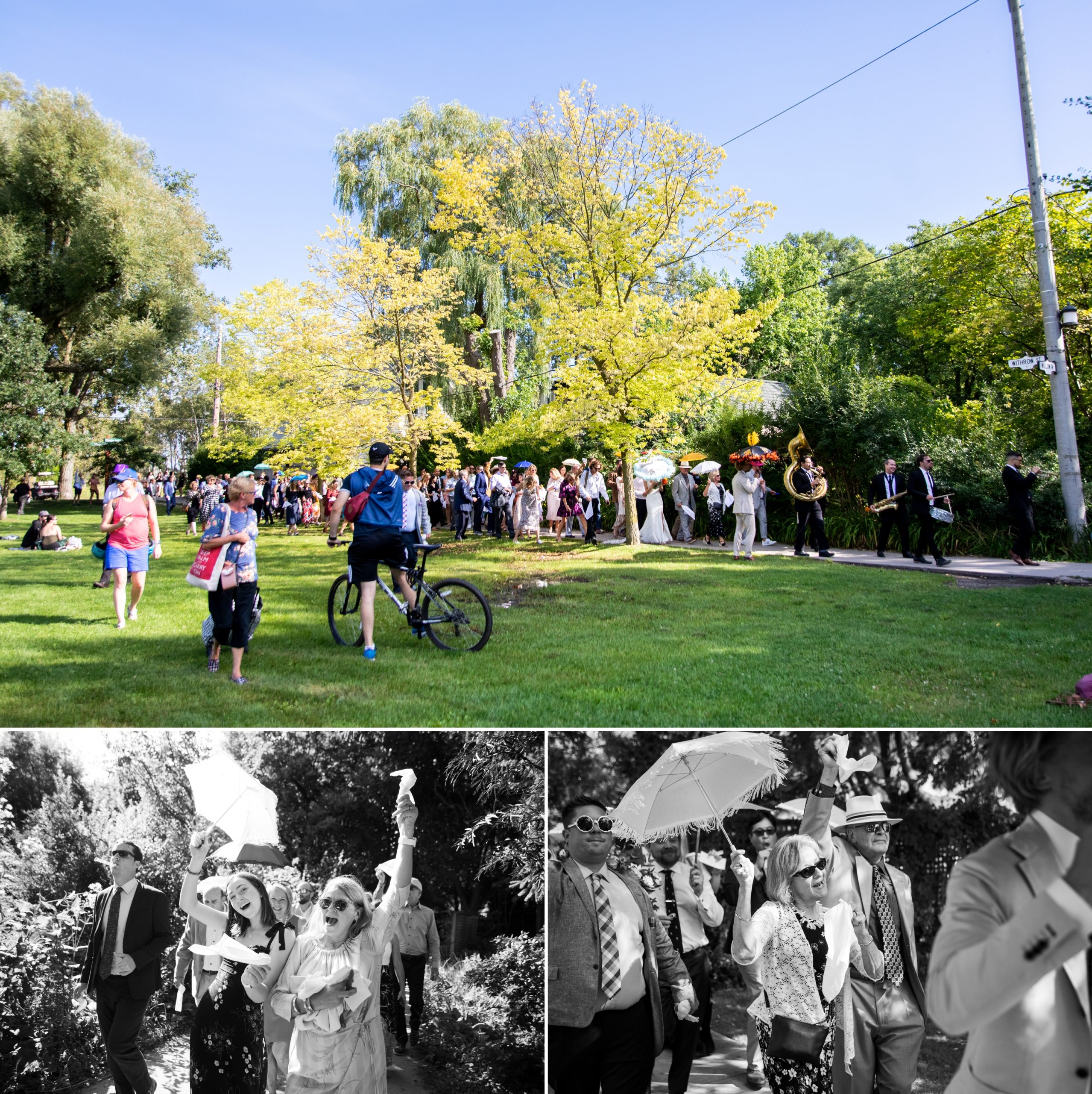 Park Music Toronto Ward's Island Summer Wedding Zsuzsi Pal Photography