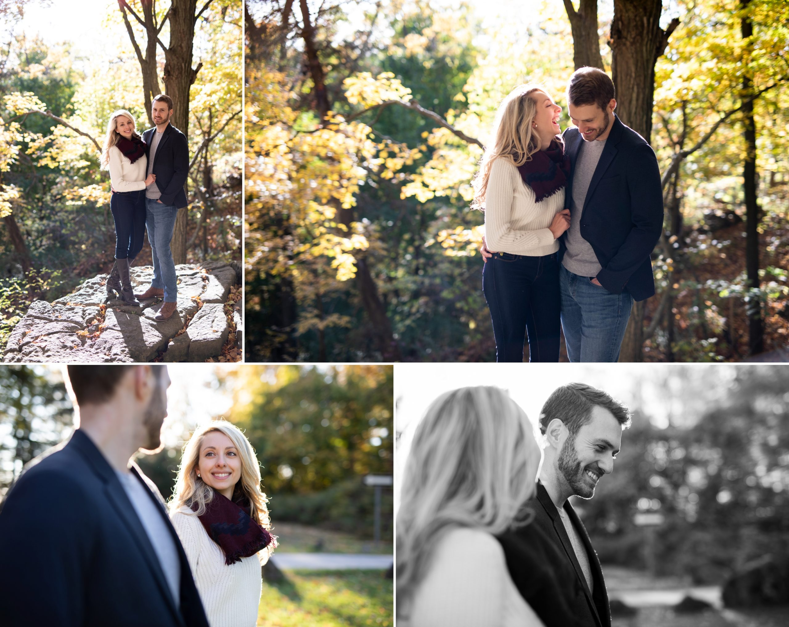Laughing Rattlesnake Point Fall Autumn Engagement Milton Zsuzsi Pal Photography