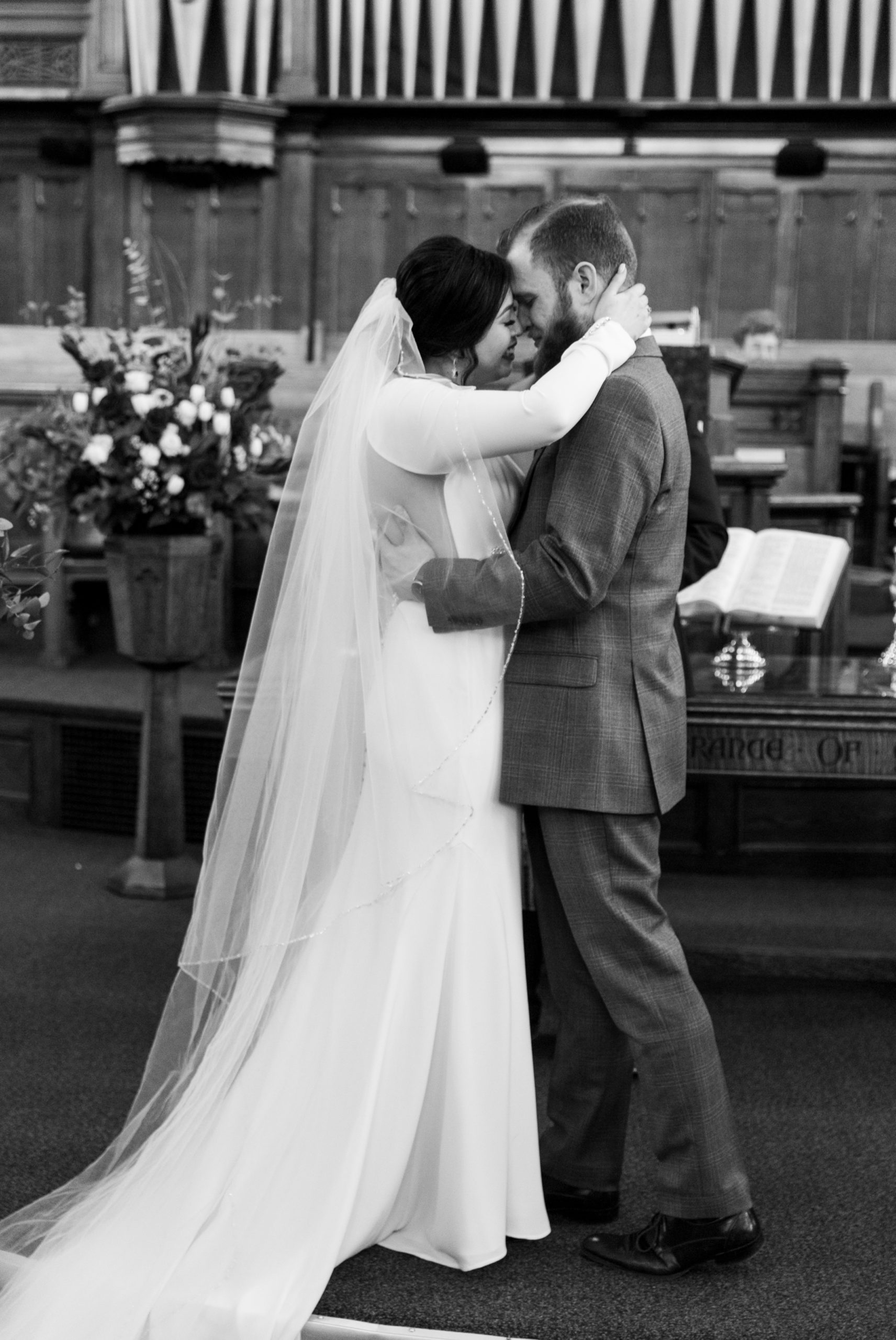 Ceremony Winter Wedding, Ancaster, Hamilton, Zsuzsi Pal Photography