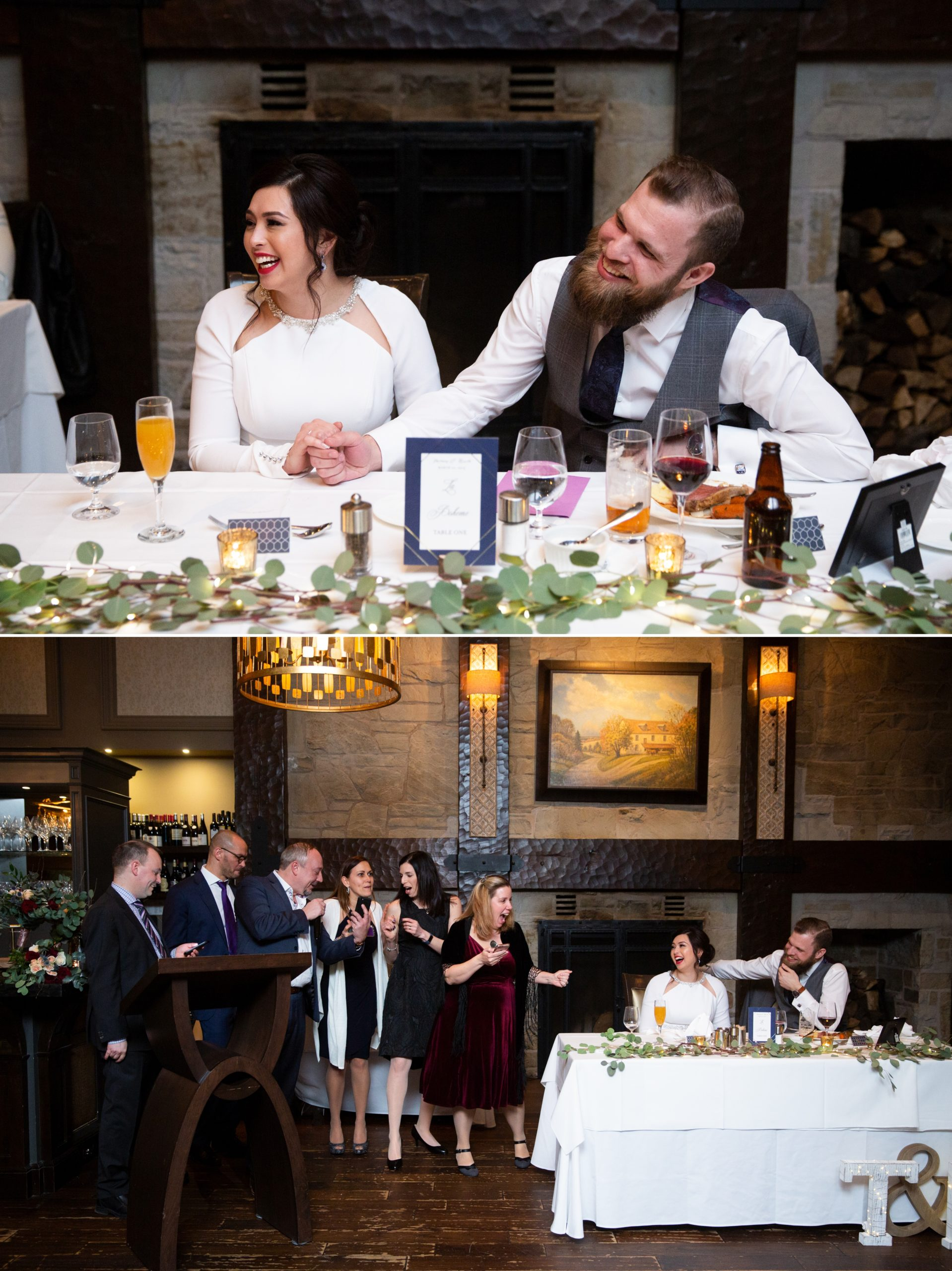Singing Game Ancaster Mill Winter Wedding, Ancaster, Hamilton, Zsuzsi Pal Photography